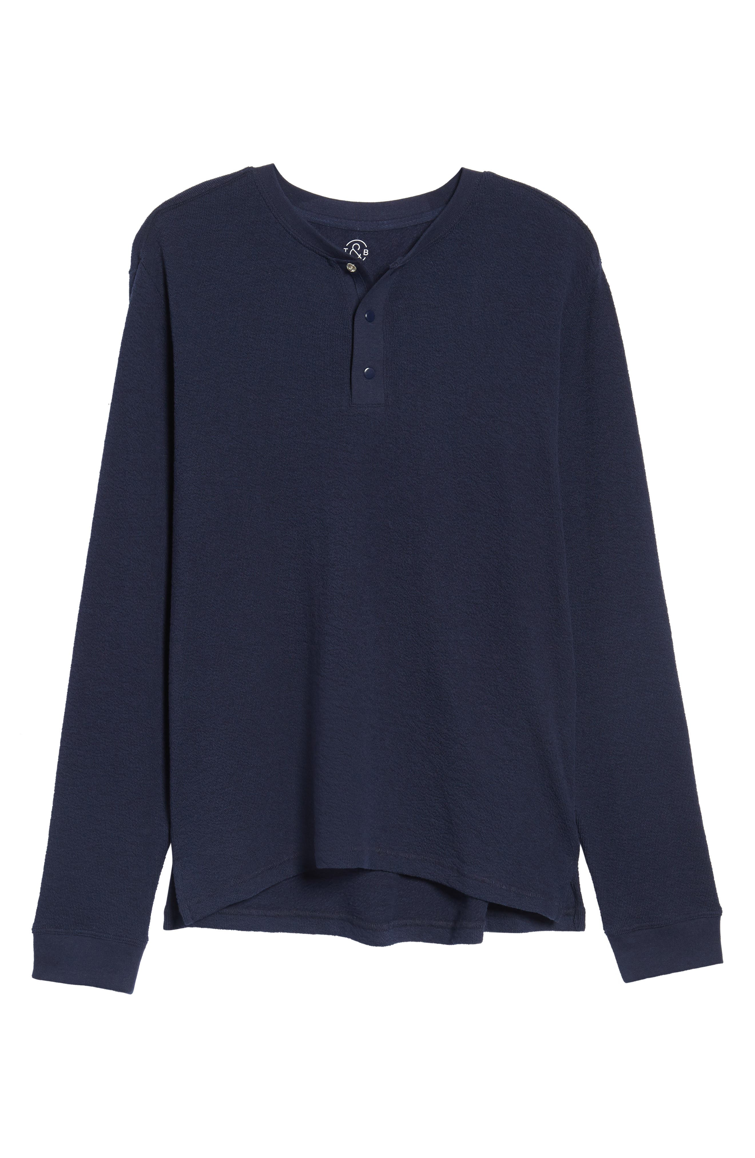 Canyon Long Sleeve Henley T-Shirt,                             Alternate thumbnail 6, color,                             410