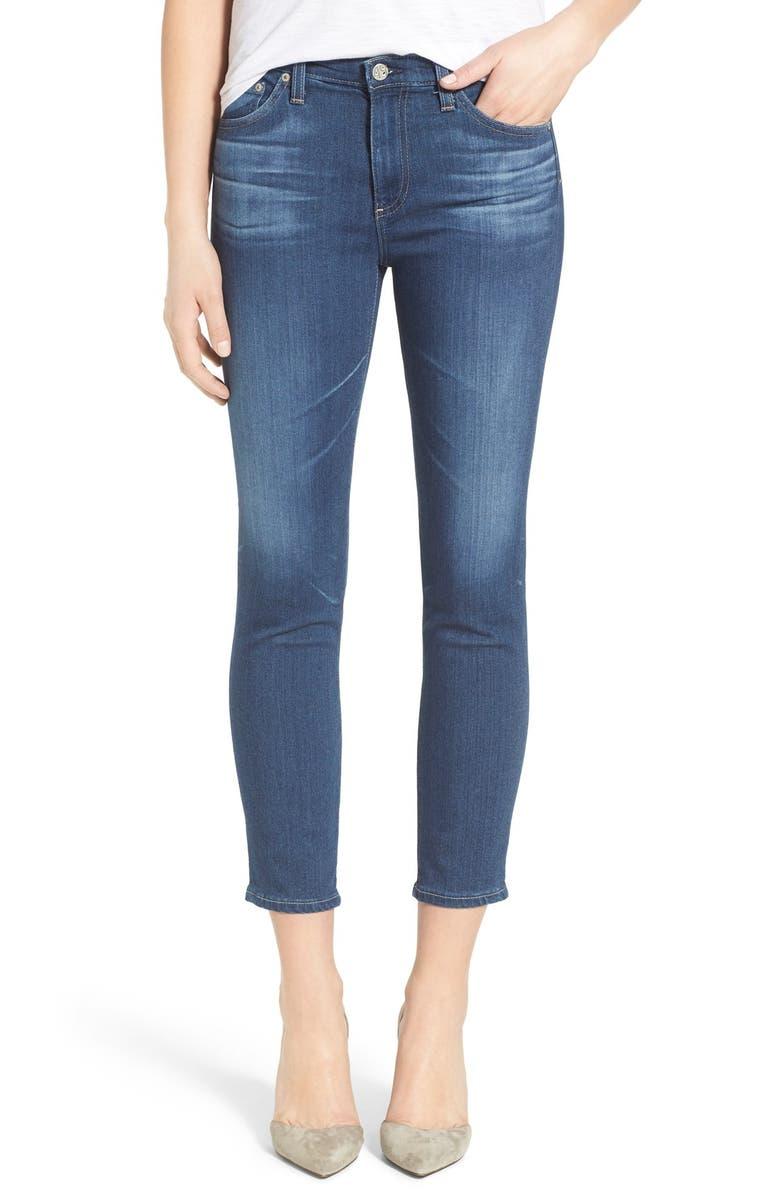 9c78314814f AG  The Prima  Crop Cigarette Jeans