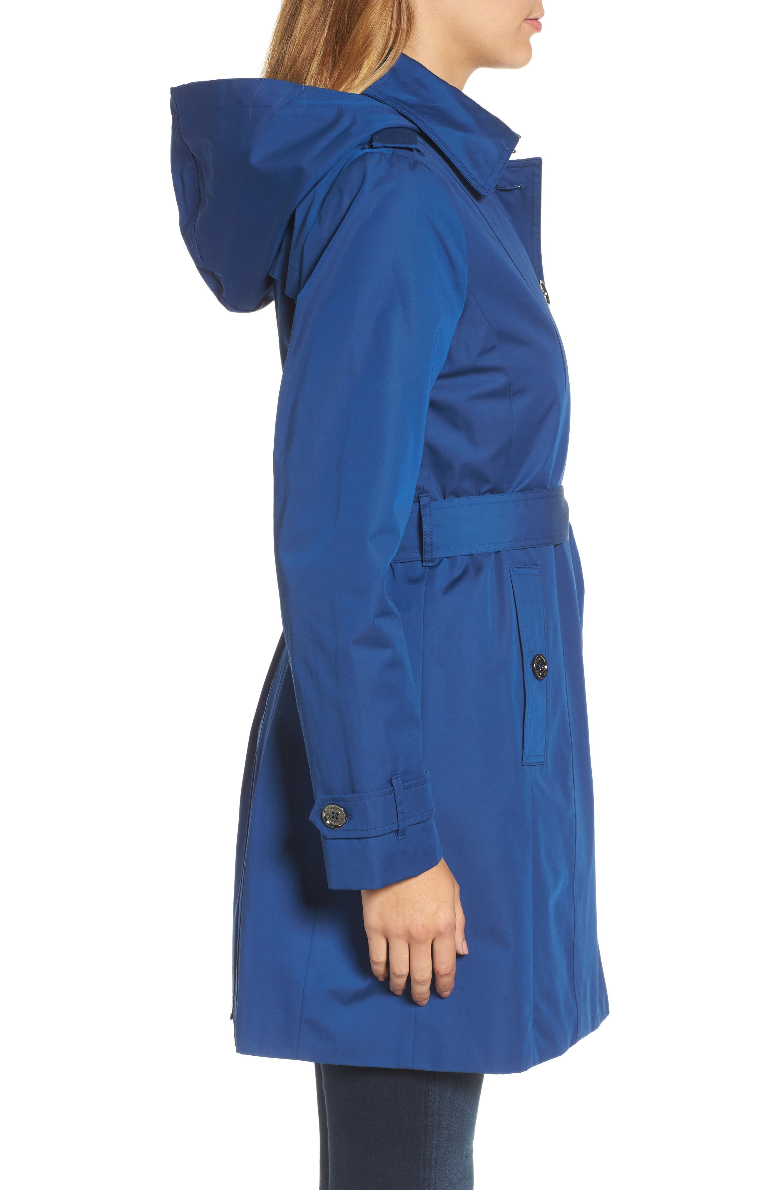 Core Trench Coat with Removable Hood & Liner,                             Alternate thumbnail 3, color,                             431