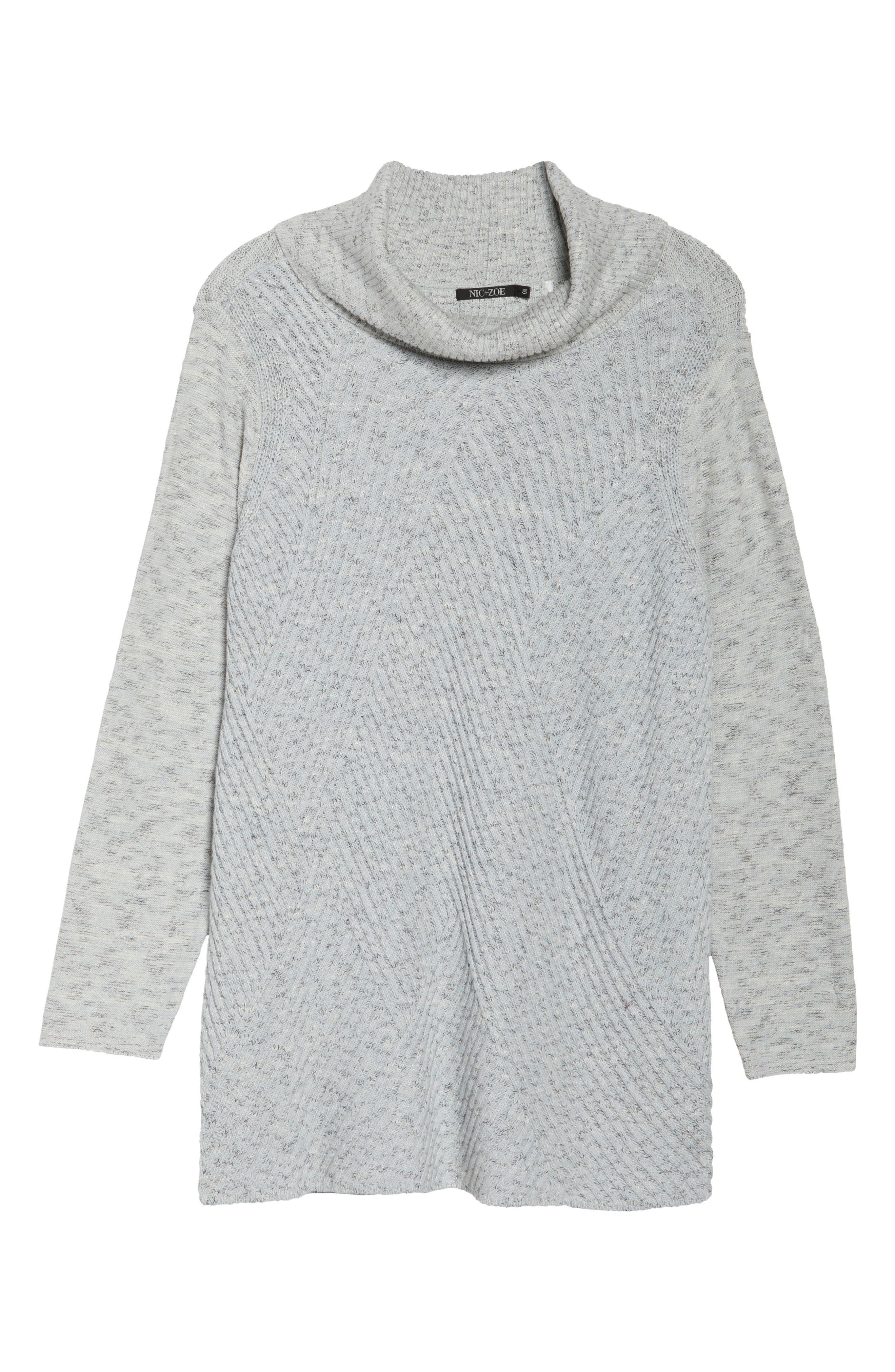 North Star Turtleneck Tunic,                             Alternate thumbnail 6, color,