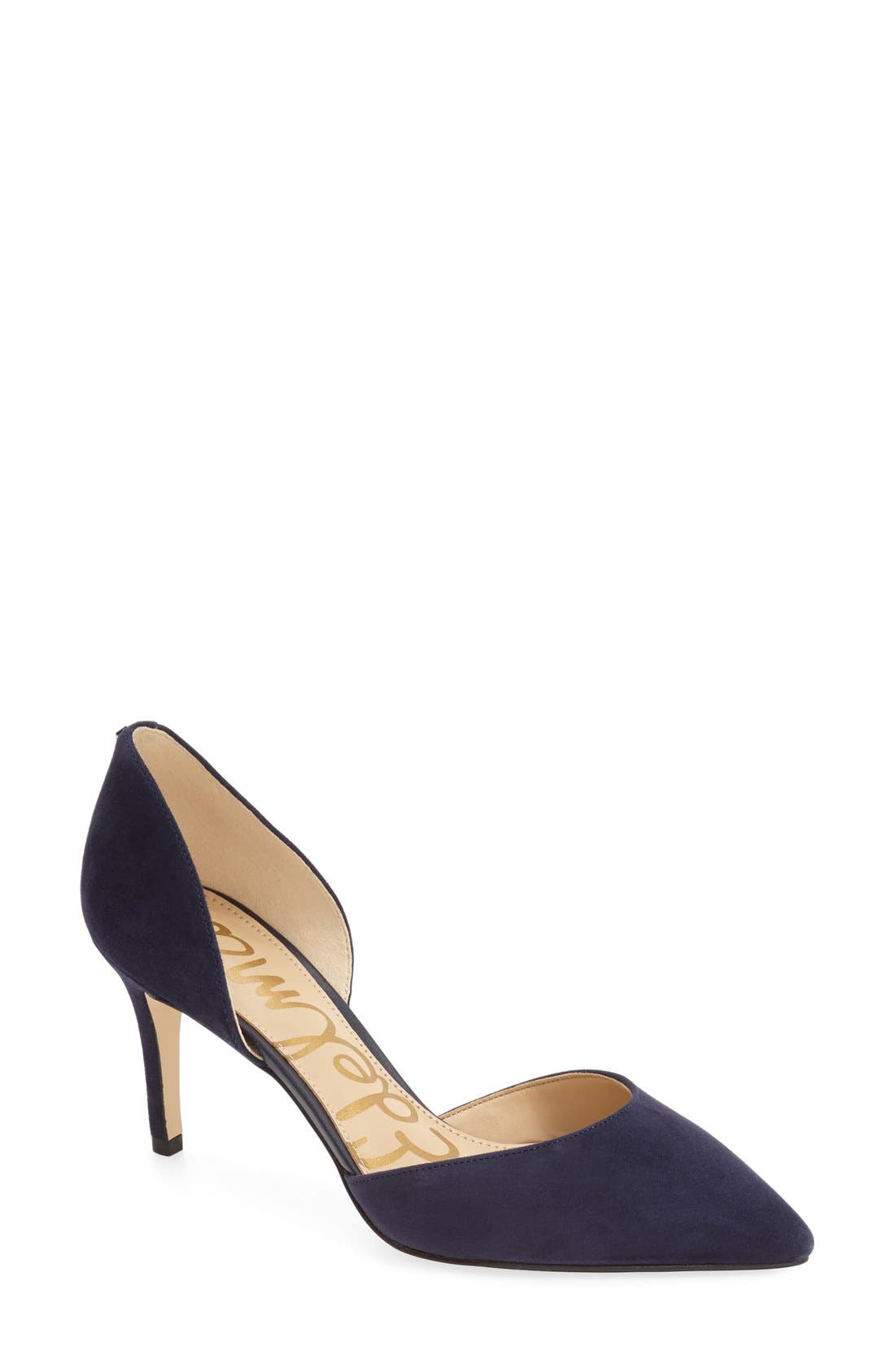 'Telsa' d'Orsay Pointy Toe Pump,                             Main thumbnail 12, color,