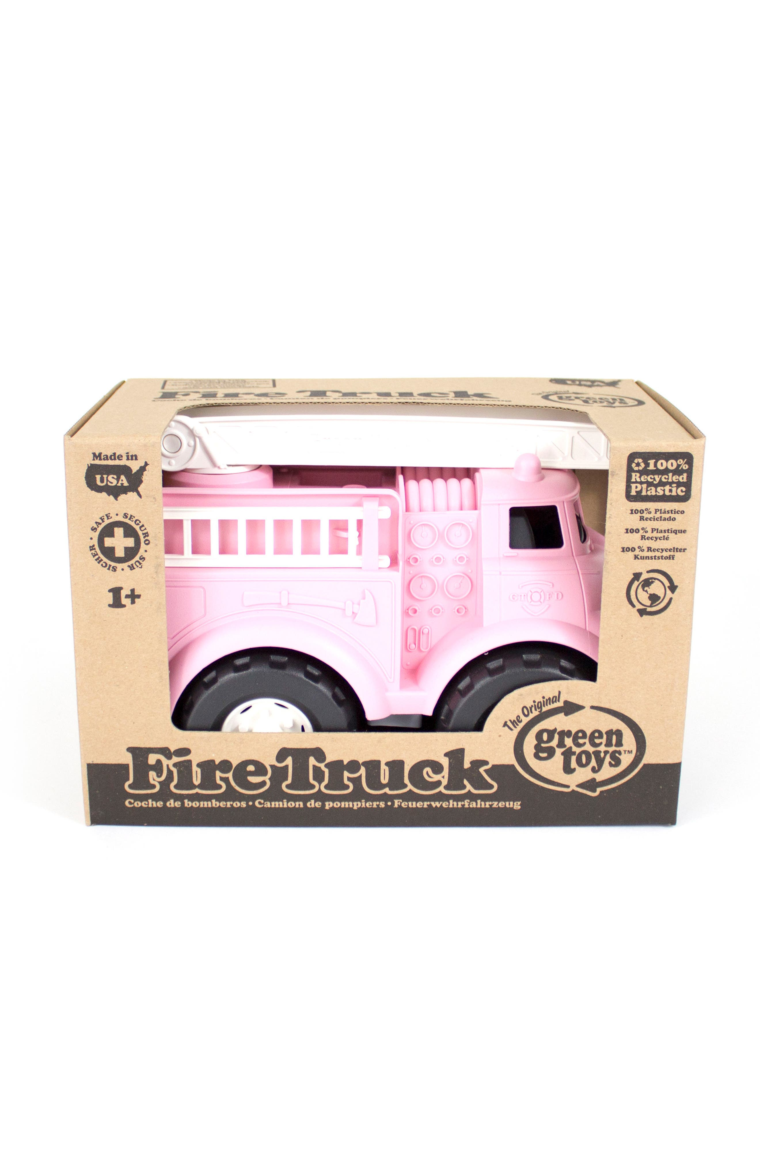 Fire Truck Toy,                             Alternate thumbnail 2, color,                             680
