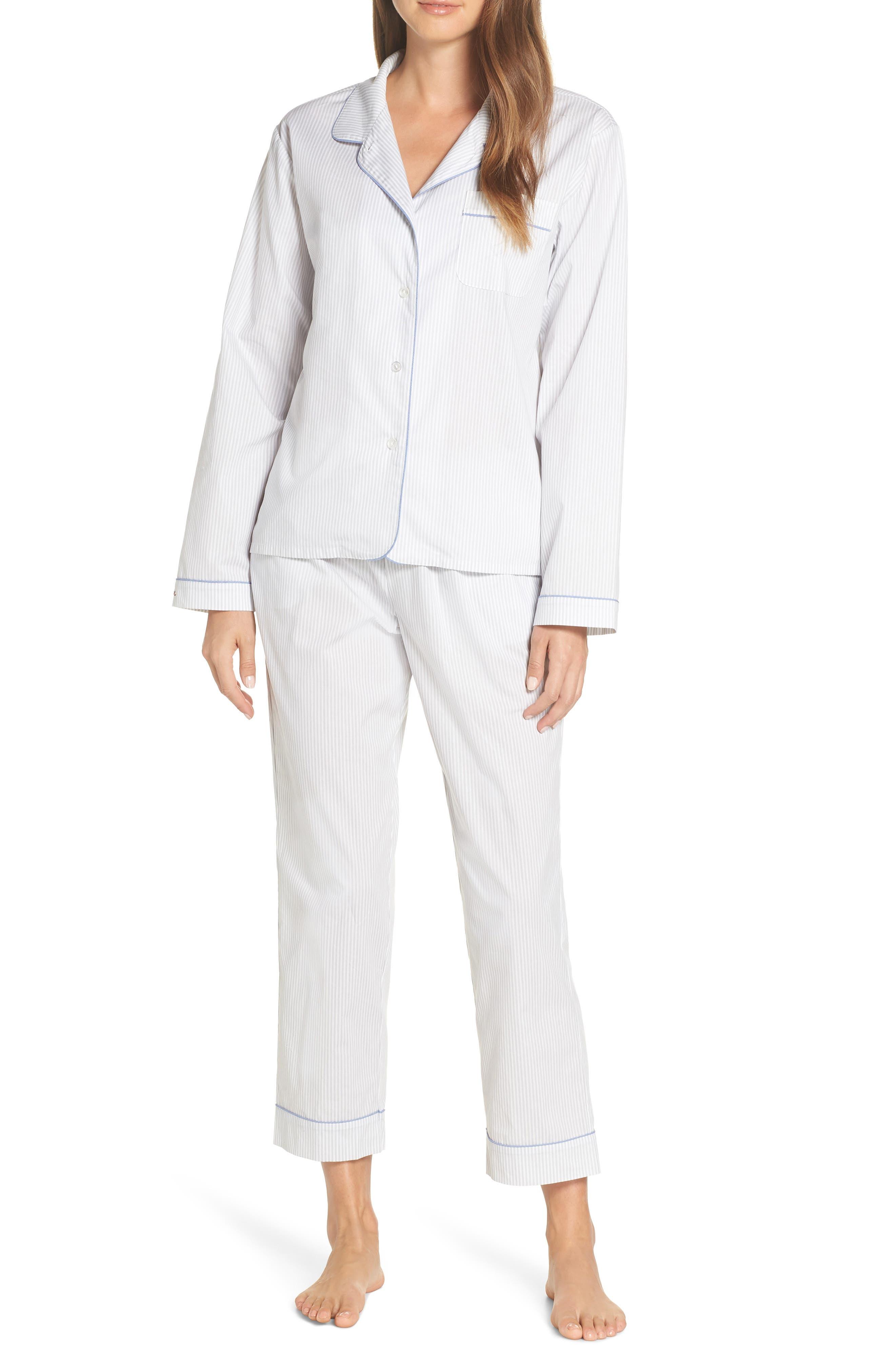 ED ELLEN DEGENERES Signature Woven Pajamas, Main, color, GREY