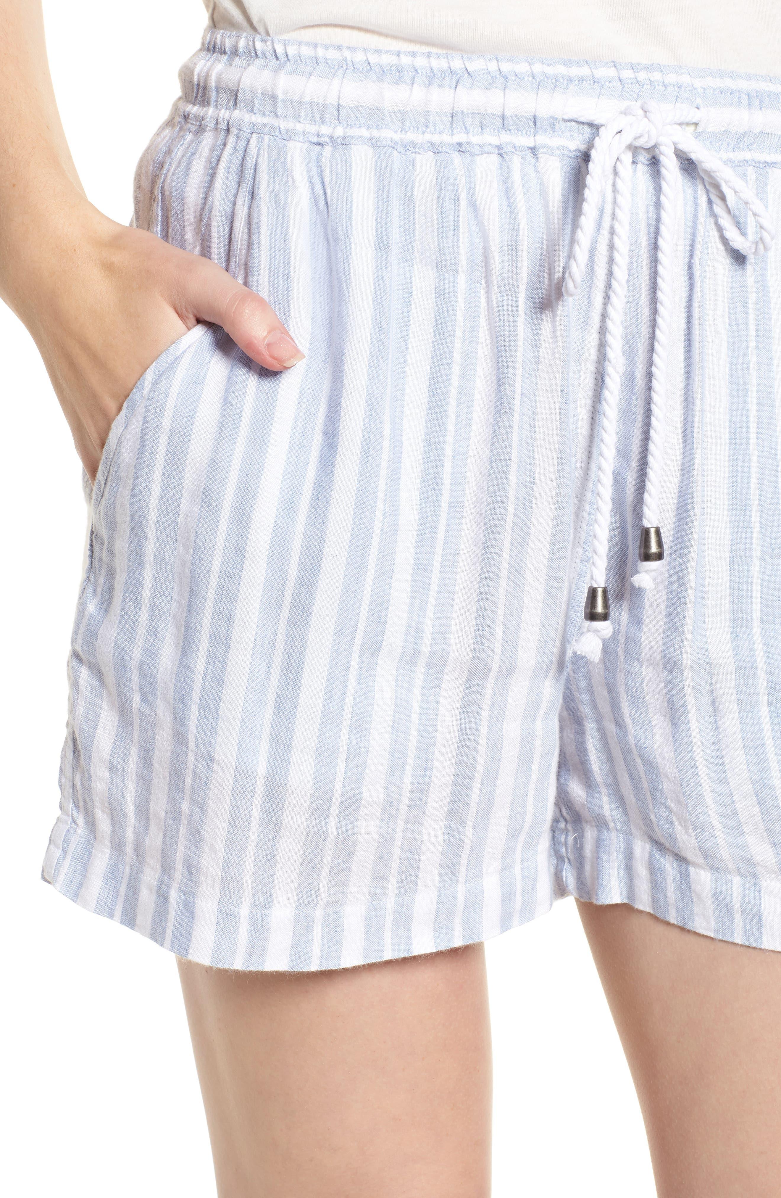 Brea Shorts,                             Alternate thumbnail 4, color,                             HOLLAND STRIPE