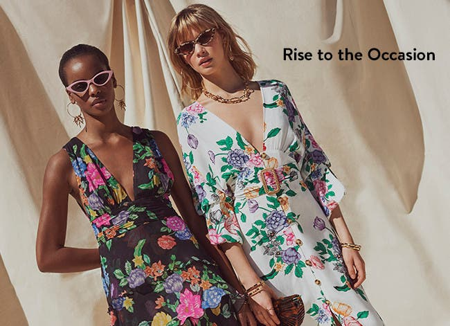 Rise to the occasion: Topshop dresses.