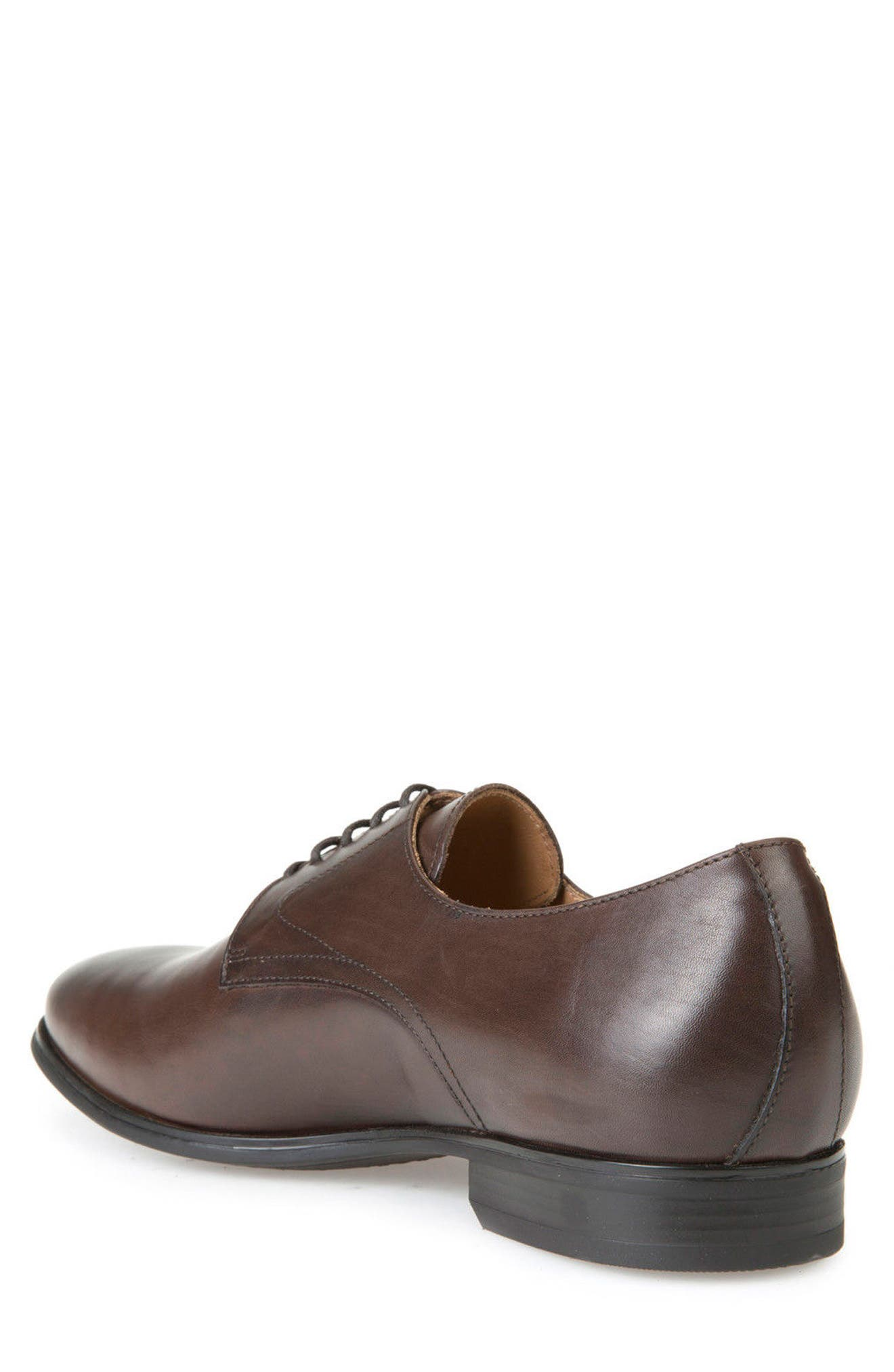 Albert 2Fit5 Plain Toe Derby,                             Alternate thumbnail 4, color,