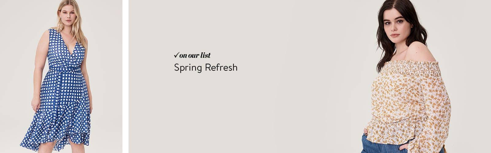 Spring refresh.