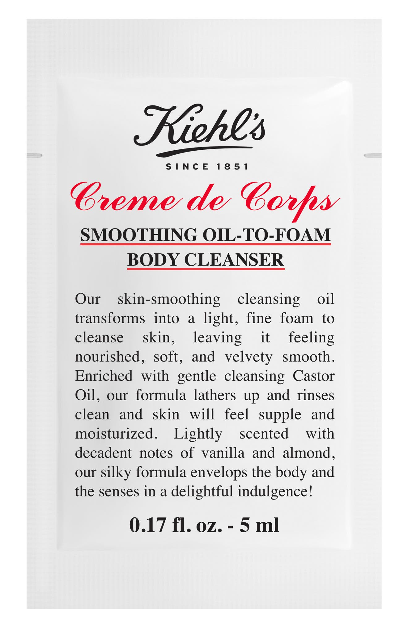 Creme de Corps Smoothing Oil-to-Foam Body Cleanser,                             Alternate thumbnail 2, color,                             NO COLOR