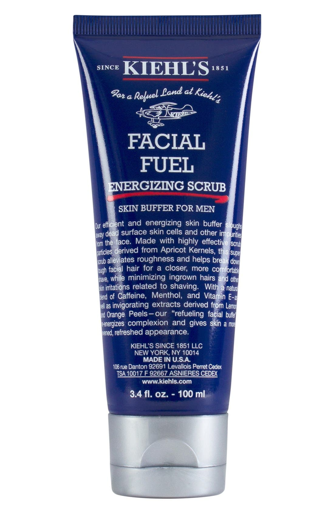 'Facial Fuel' Energizing Tonic for Men,                             Alternate thumbnail 2, color,                             000