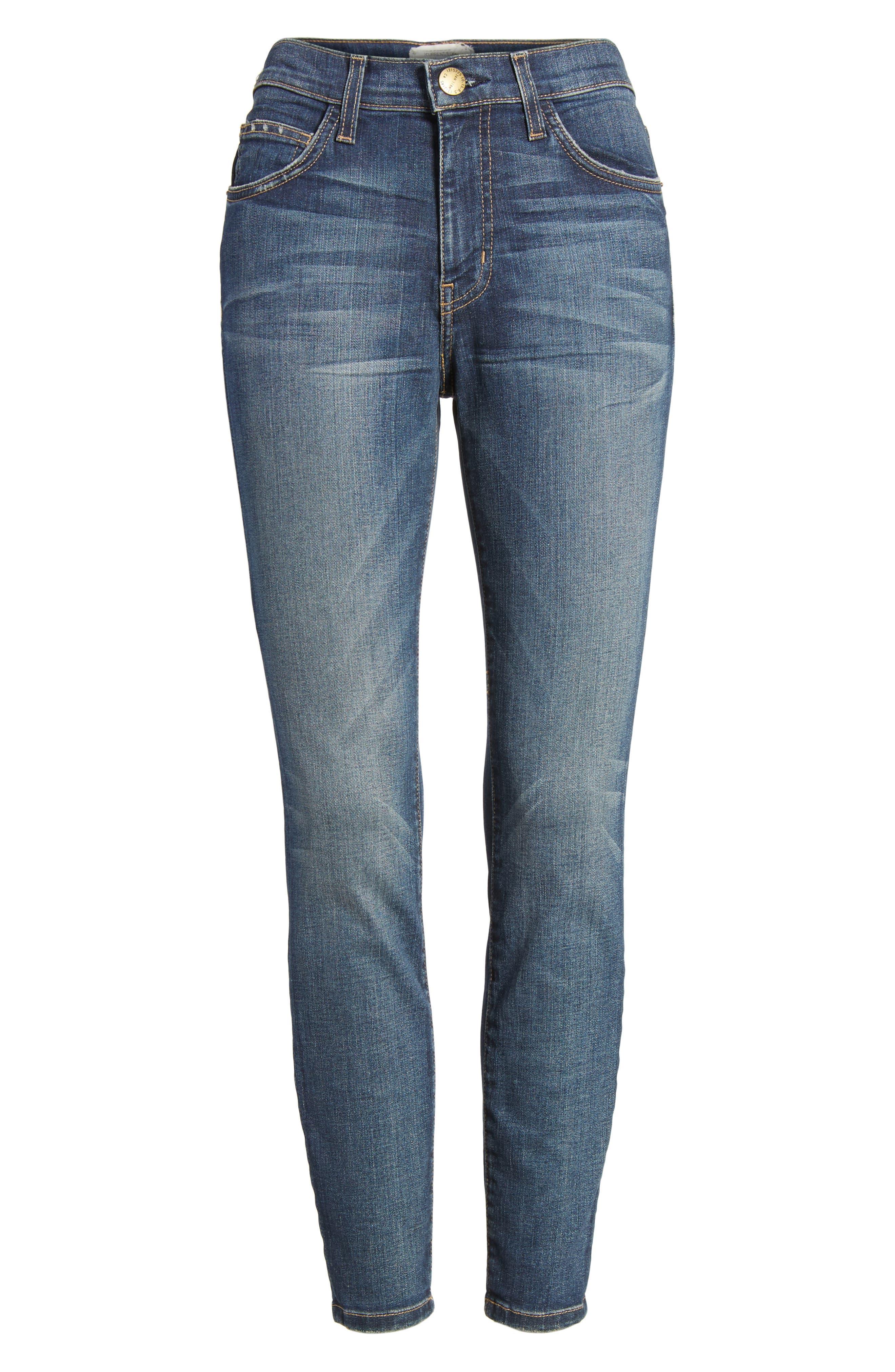 The Stiletto High Waist Skinny Jeans,                             Alternate thumbnail 6, color,                             477
