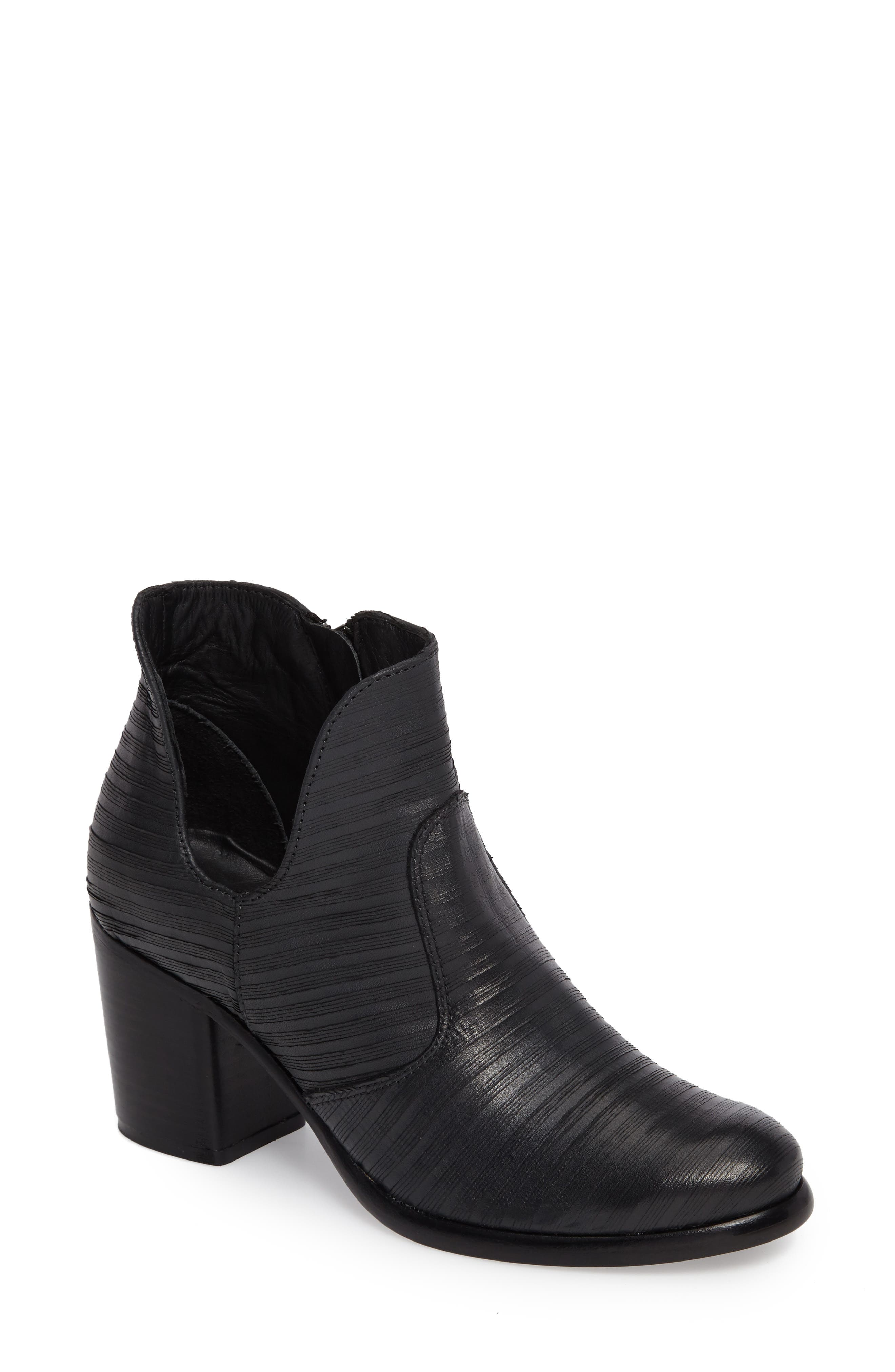 Blurred Lines Bootie,                             Main thumbnail 1, color,                             001