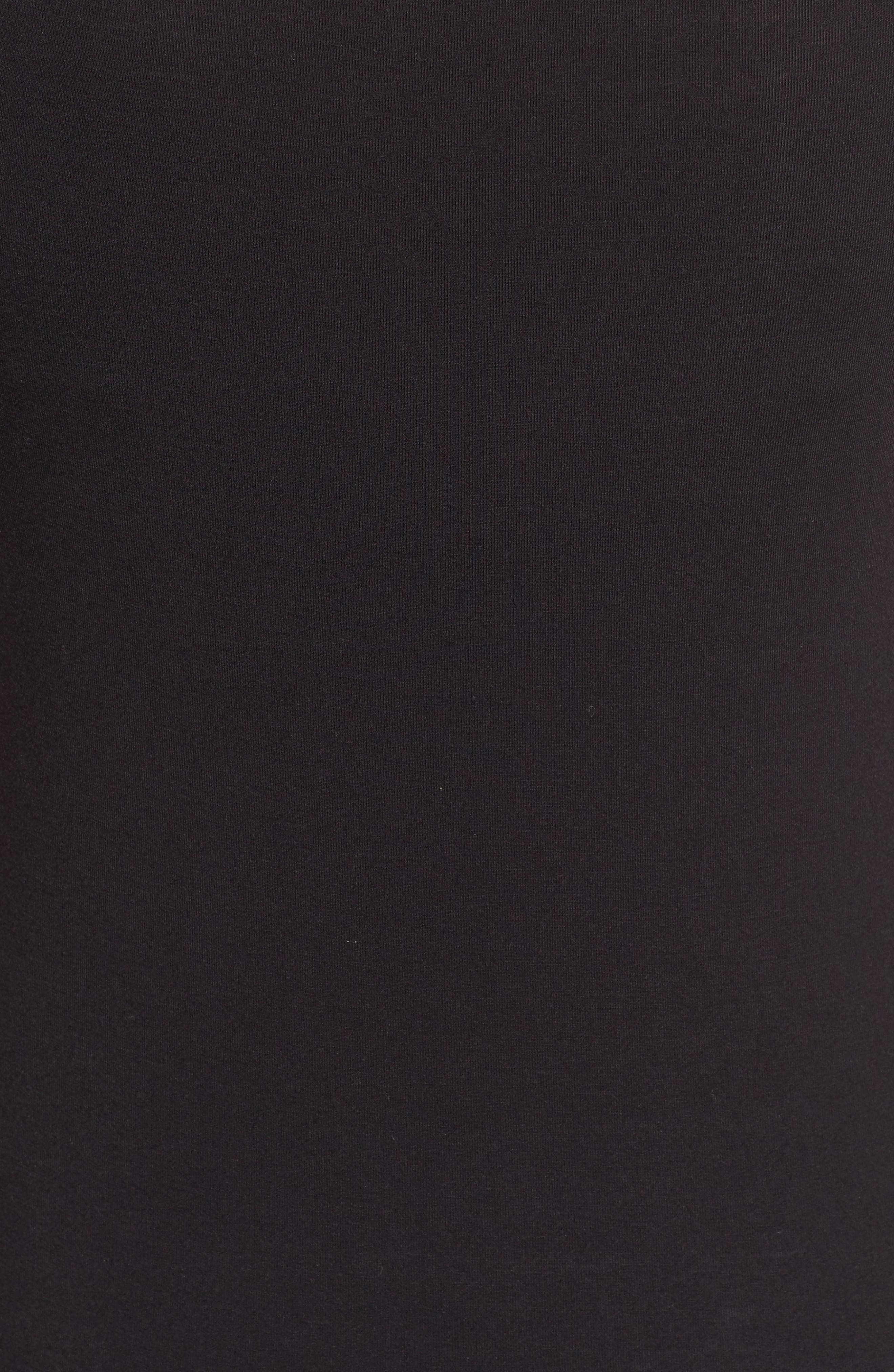 'Deneuve' Cold Shoulder Top,                             Alternate thumbnail 6, color,                             001