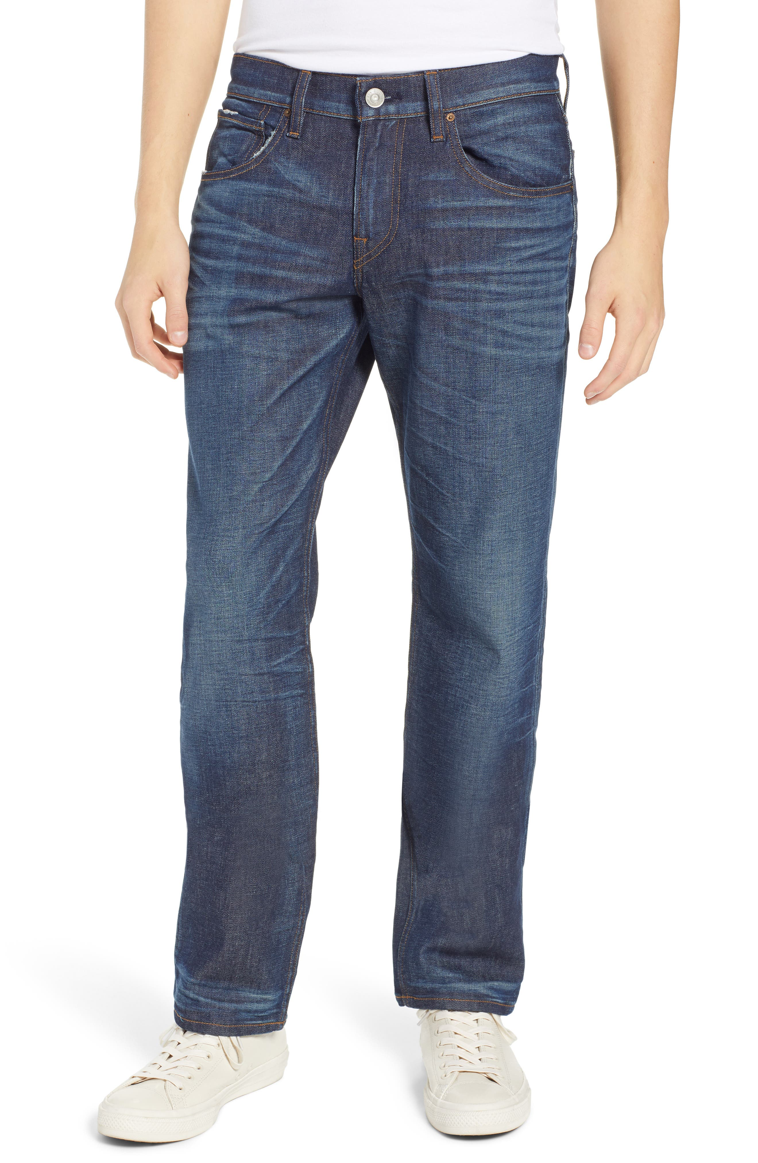 Byron Slim Straight Fit Jeans,                             Main thumbnail 1, color,                             ALBANY