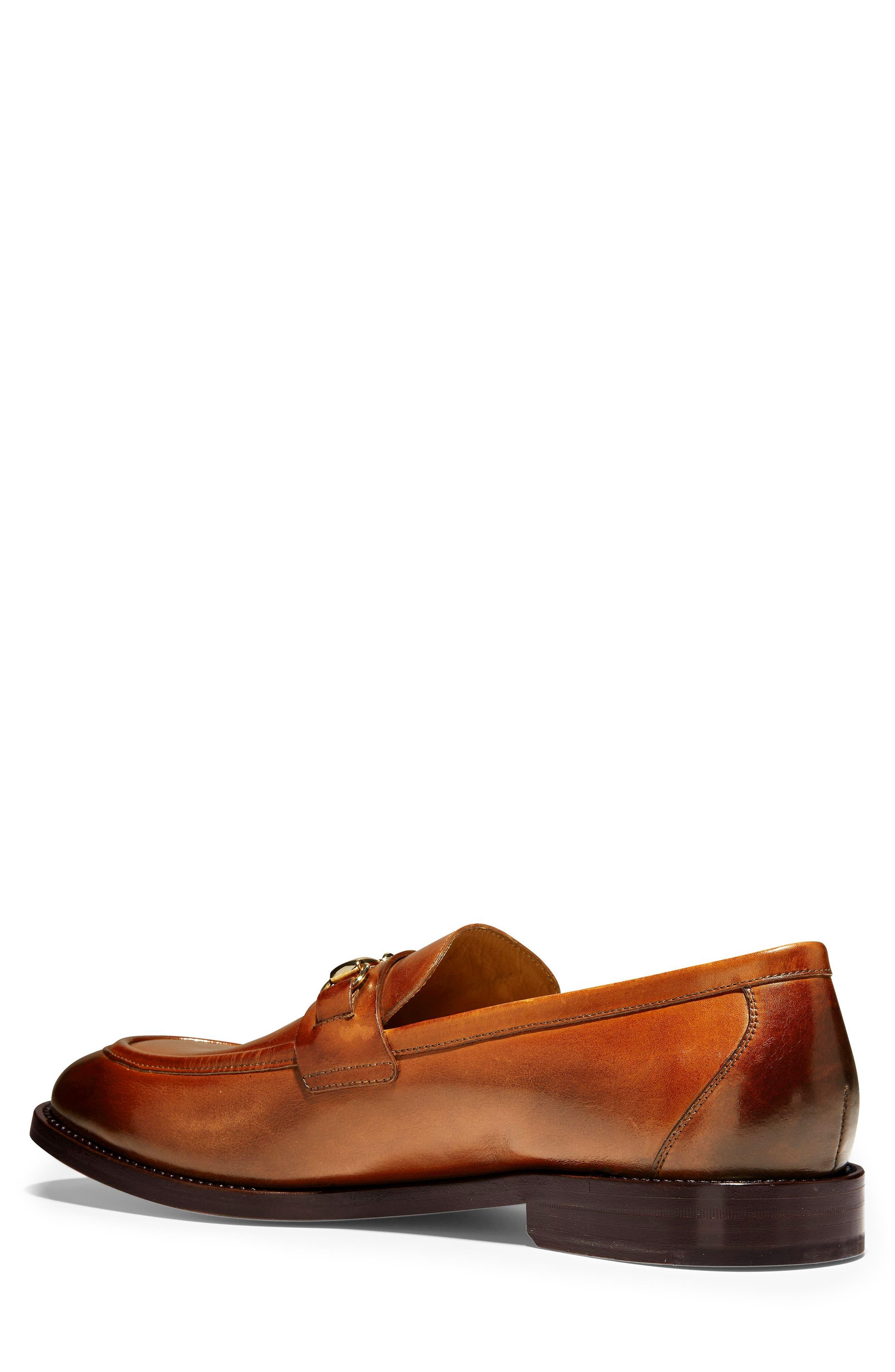 American Classics Kneeland Bit Loafer,                             Alternate thumbnail 2, color,                             BRITISH TAN LEATHER