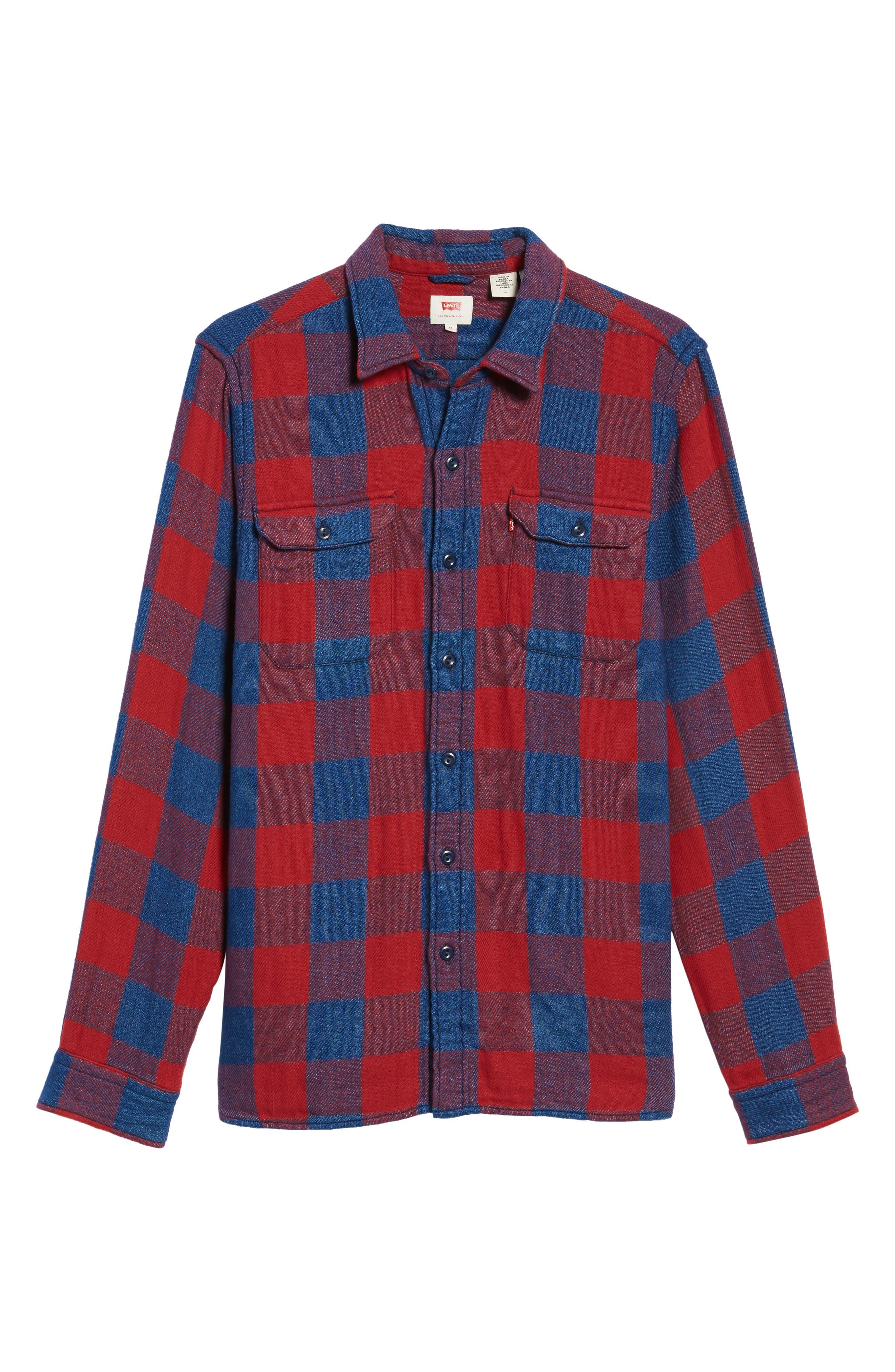 Jackson Worker Shirt,                             Alternate thumbnail 6, color,                             600