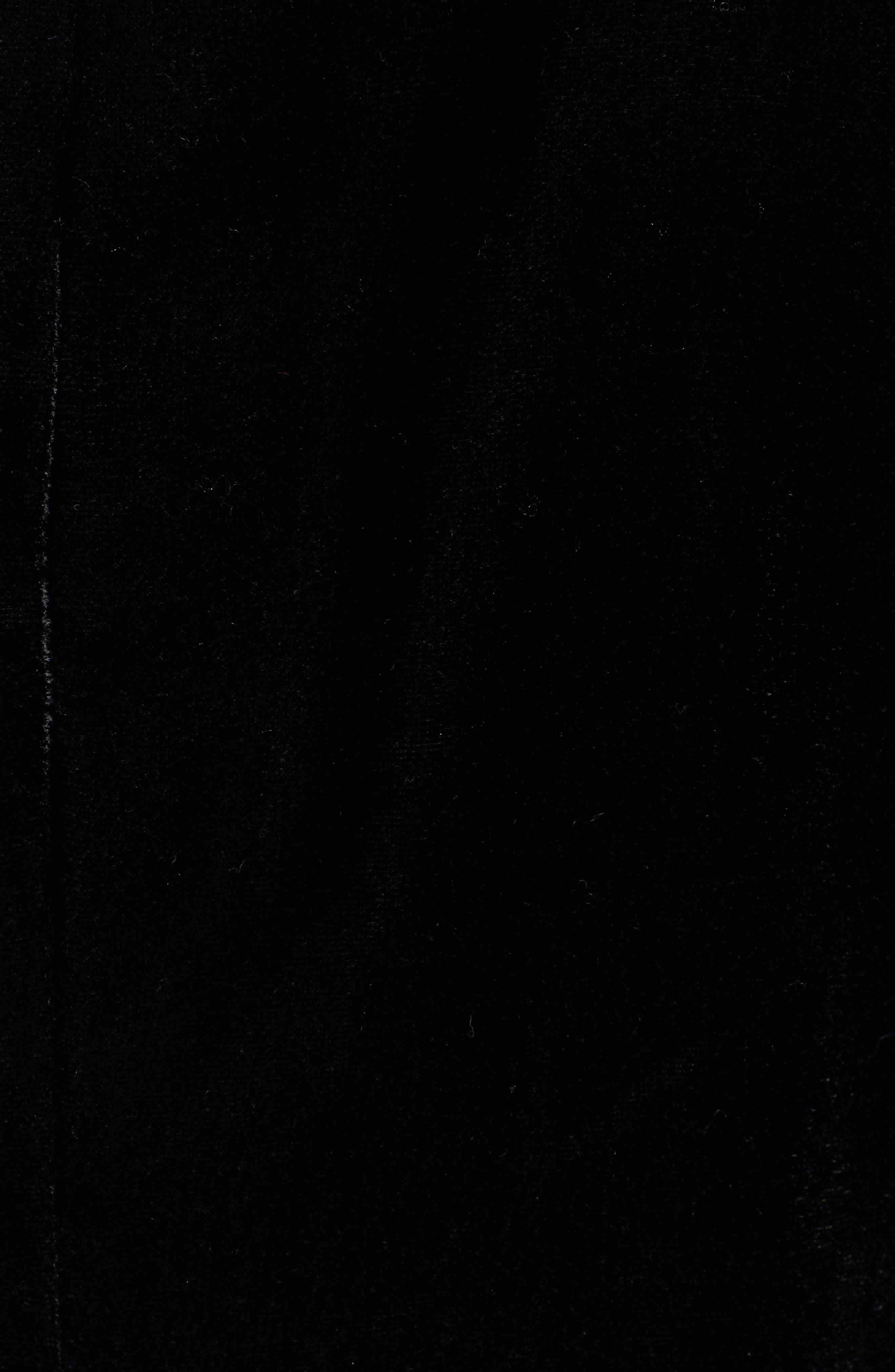 Velvet Blazer,                             Alternate thumbnail 6, color,                             BLACK