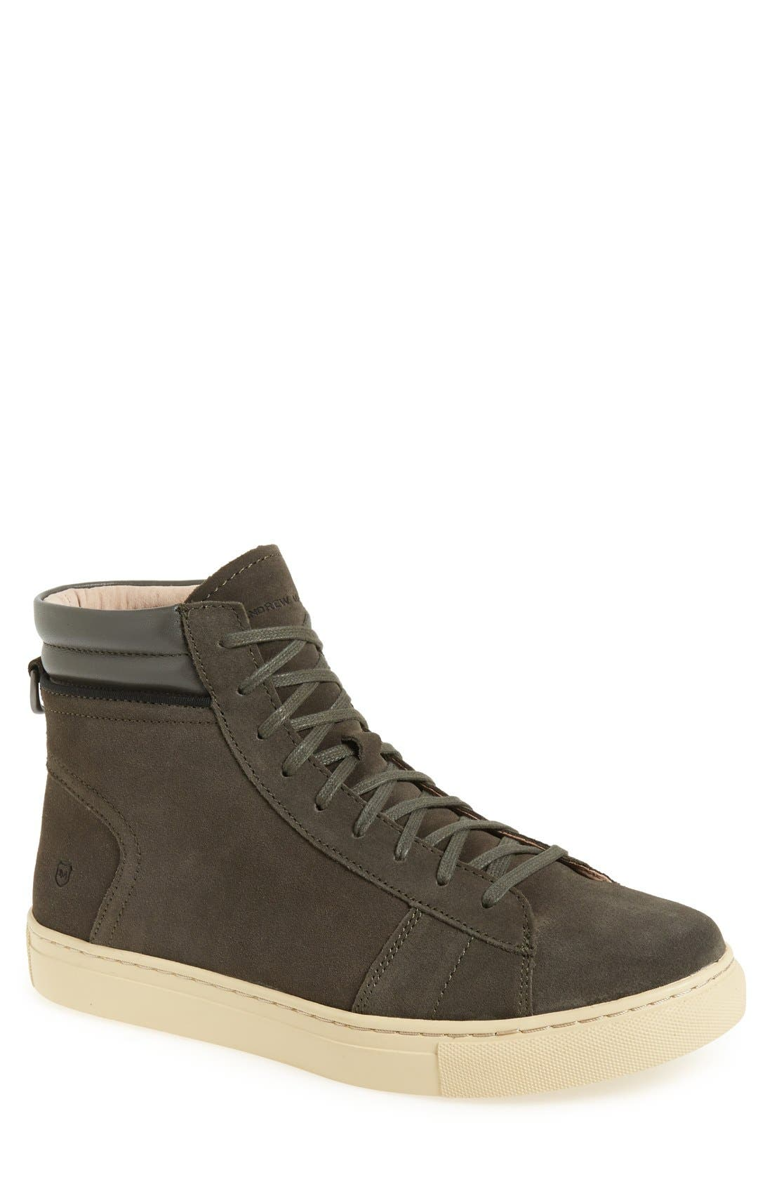 'Remsen' High Top Sneaker,                             Main thumbnail 1, color,                             038