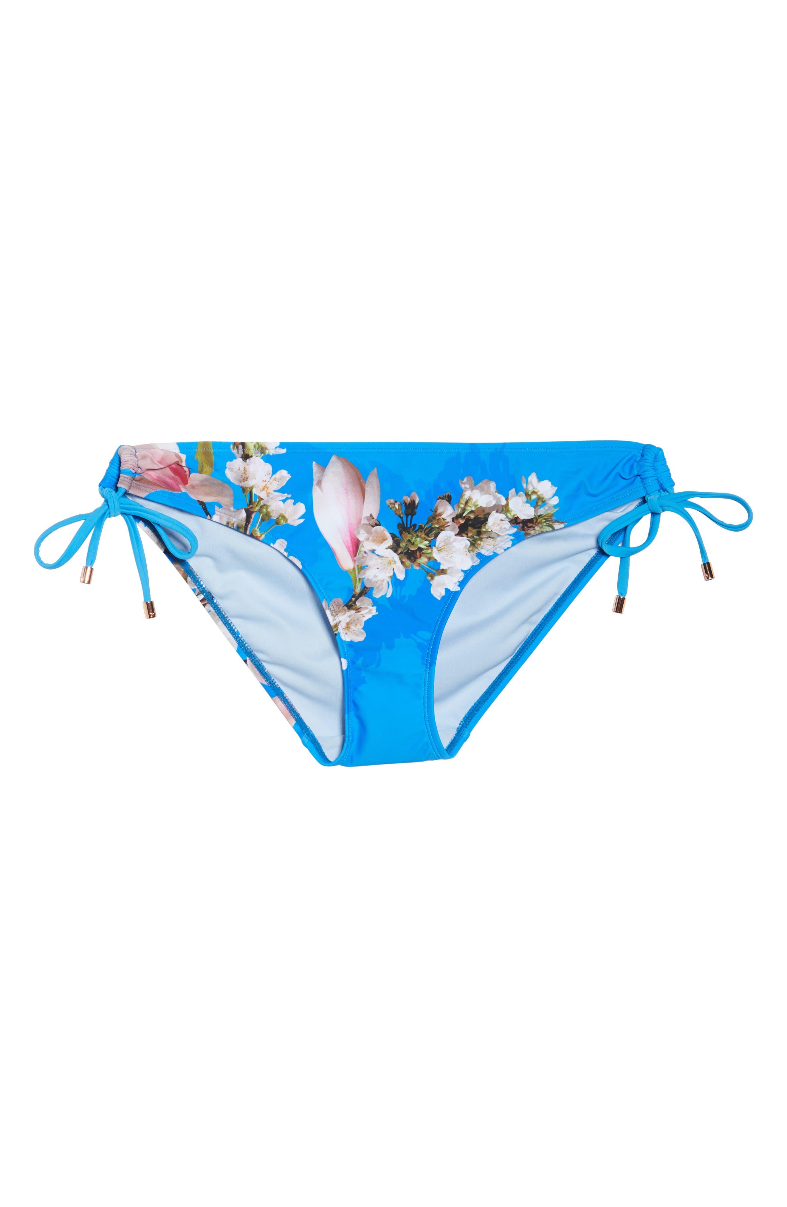 Harmony Side Tie Bikini Bottoms,                             Alternate thumbnail 6, color,                             430