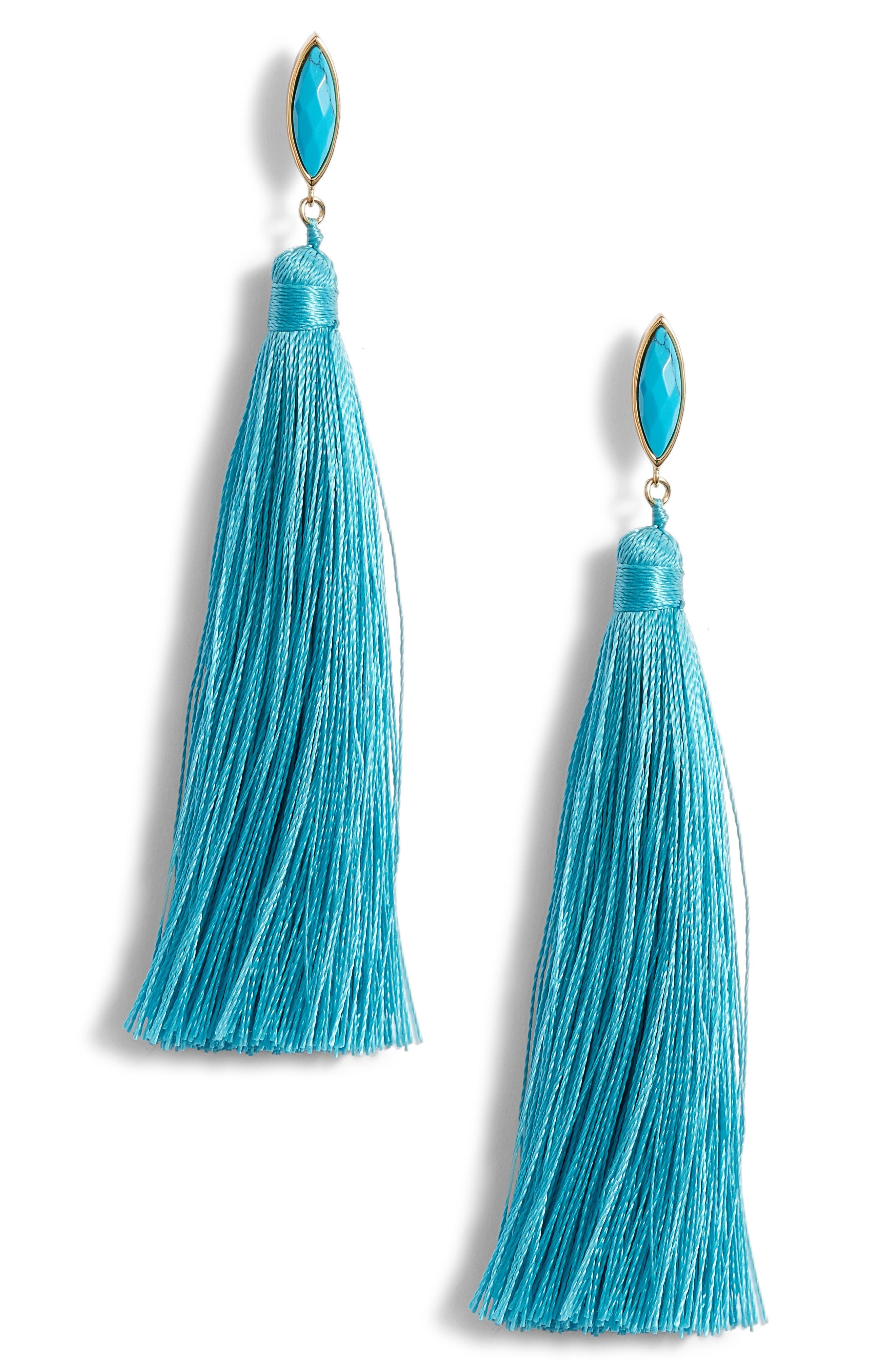 Palisades Tassel Earrings,                             Main thumbnail 3, color,