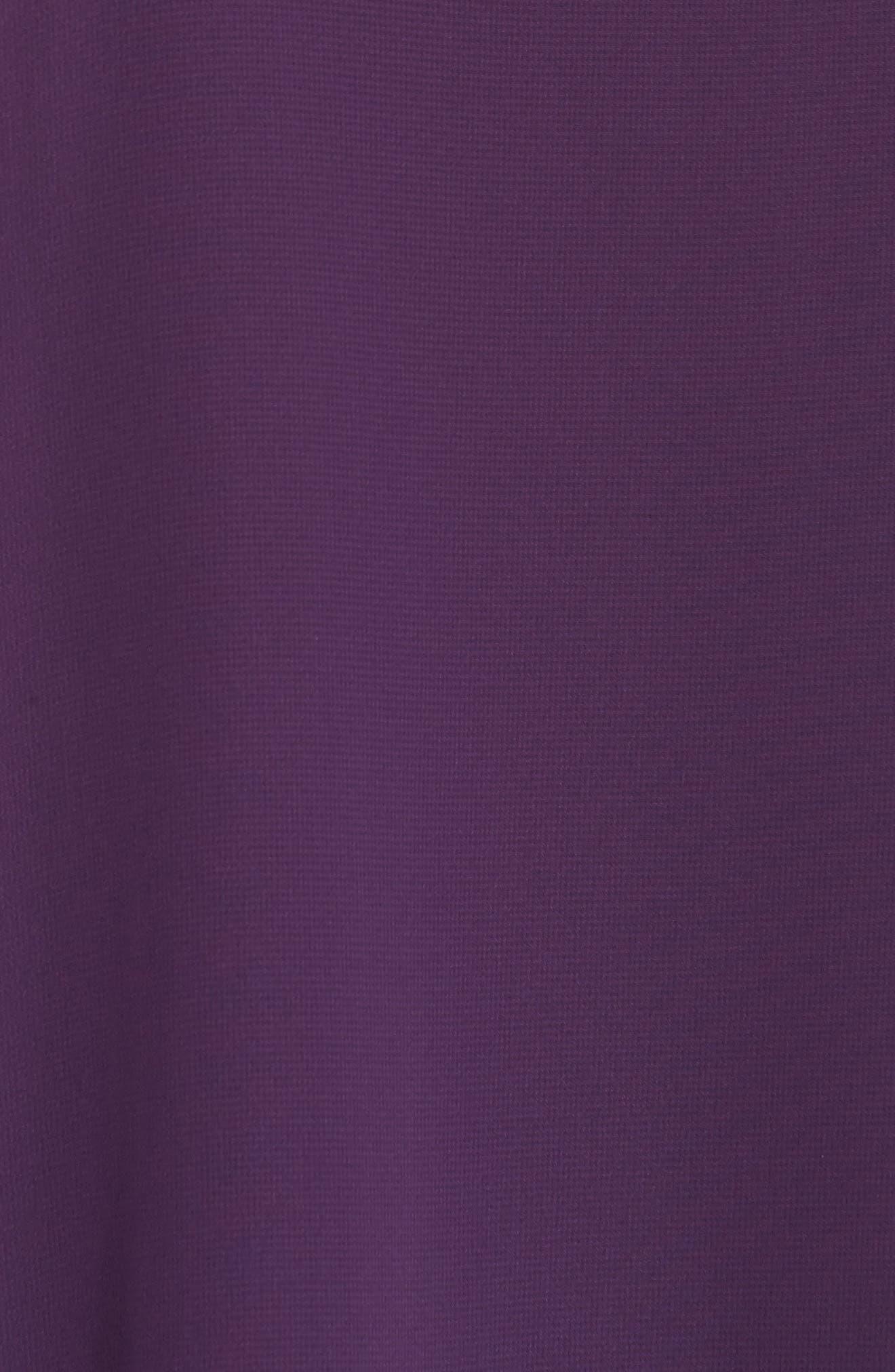 Chiffon Overlay Shift Dress,                             Alternate thumbnail 5, color,                             515