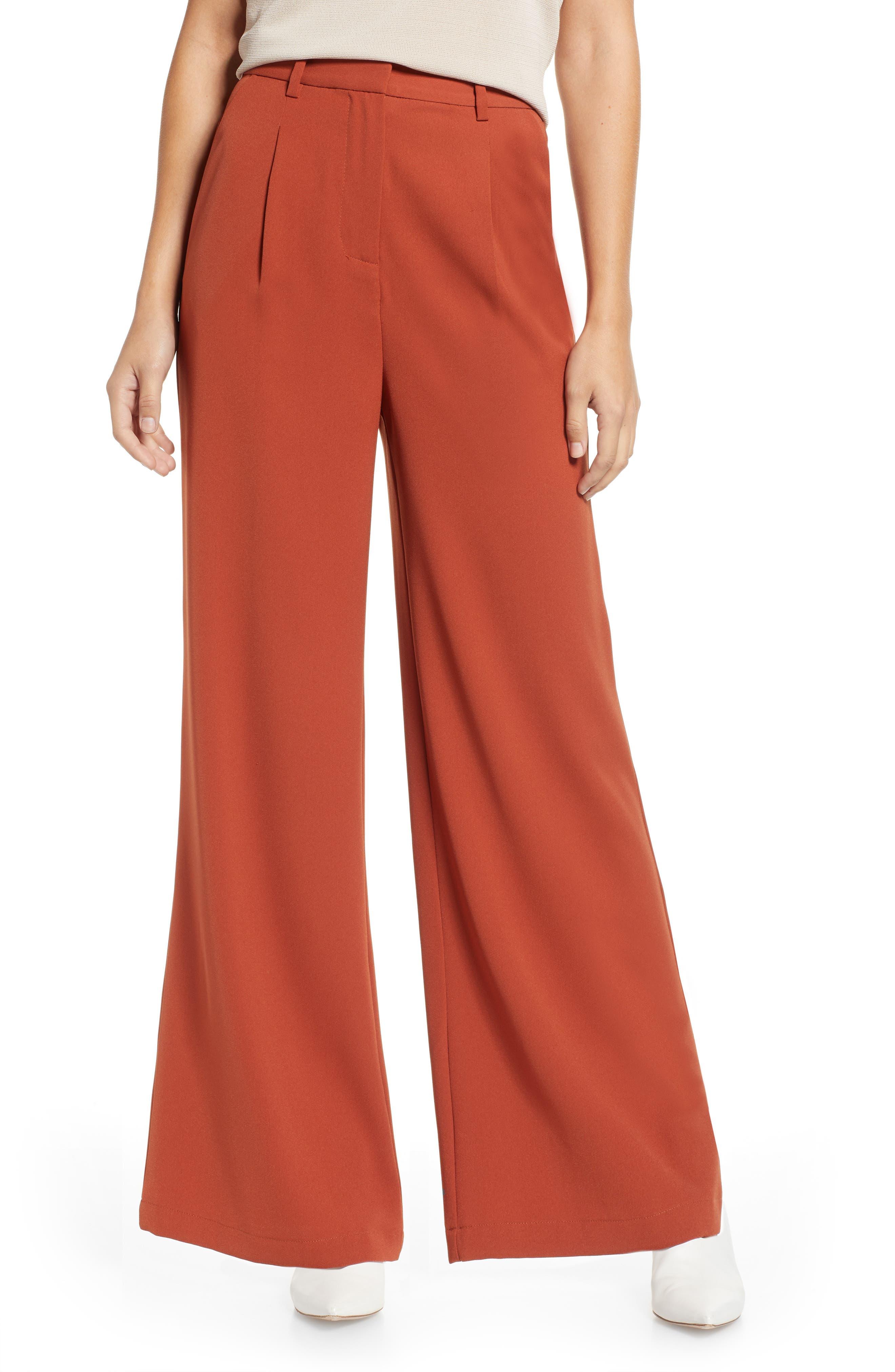 Vintage High Waisted Trousers, Sailor Pants, Jeans Womens Leith High Waist Flare Pants Size Medium - Brown $27.60 AT vintagedancer.com