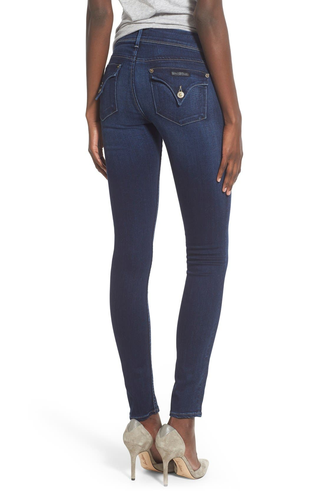 'Elysian - Collin' Mid Rise Skinny Jeans,                             Alternate thumbnail 2, color,                             CREST FALLS