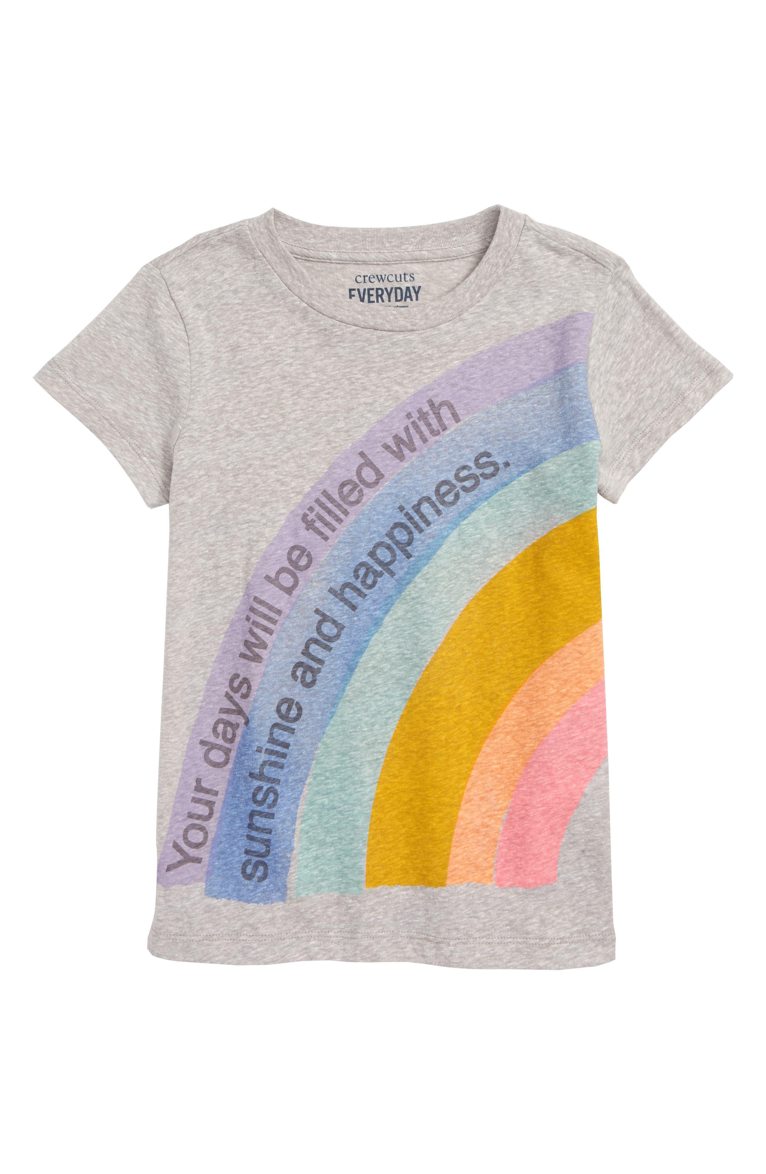 Rainbow Tee,                         Main,                         color, 020