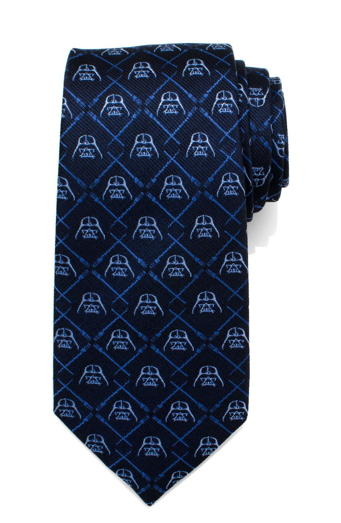 'Darth Vader' Silk Tie,                             Main thumbnail 1, color,                             BLUE