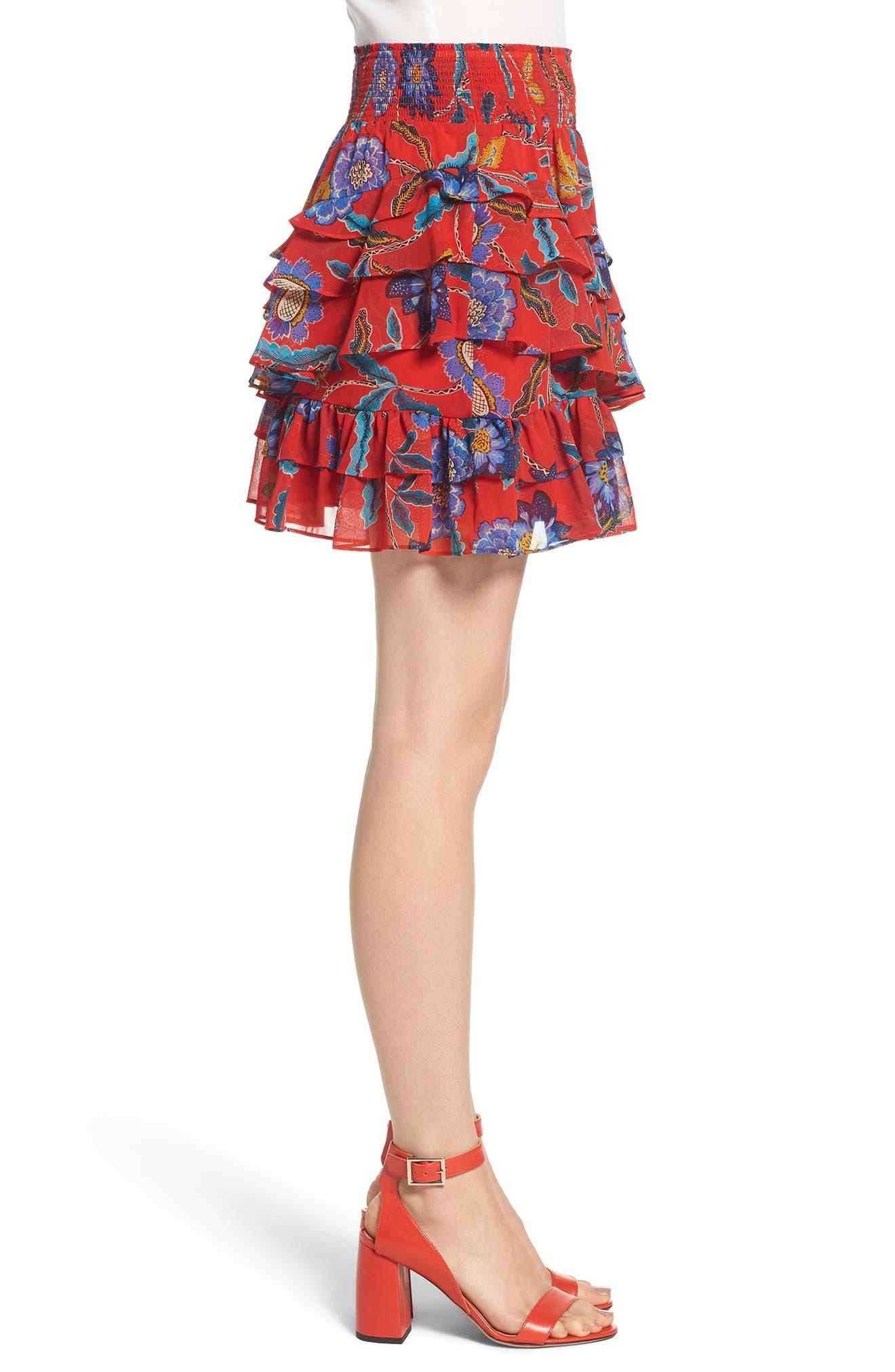 Lila Skirt,                             Alternate thumbnail 3, color,                             607