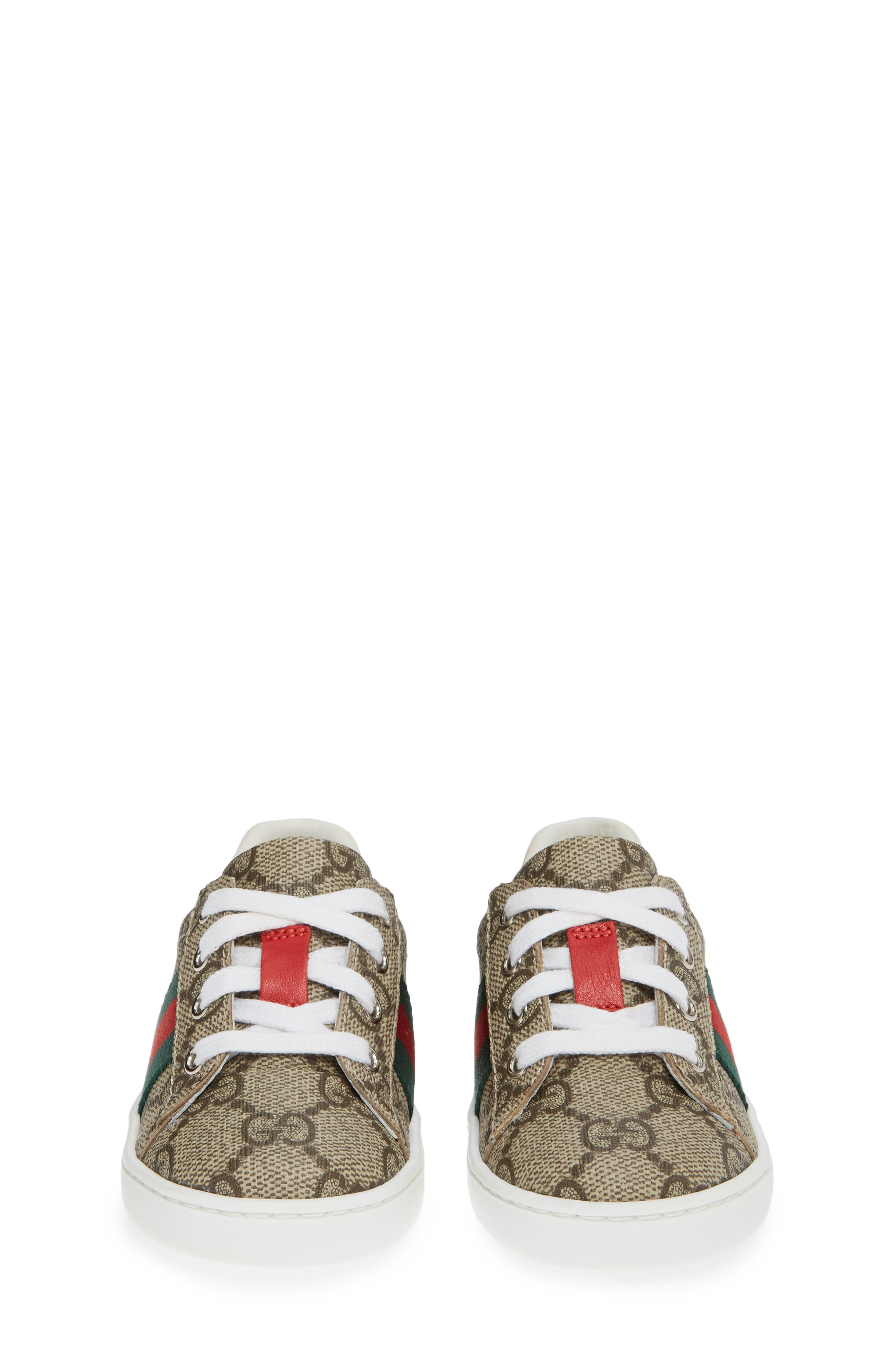 New Ace Sneaker,                             Alternate thumbnail 5, color,                             BEIGE