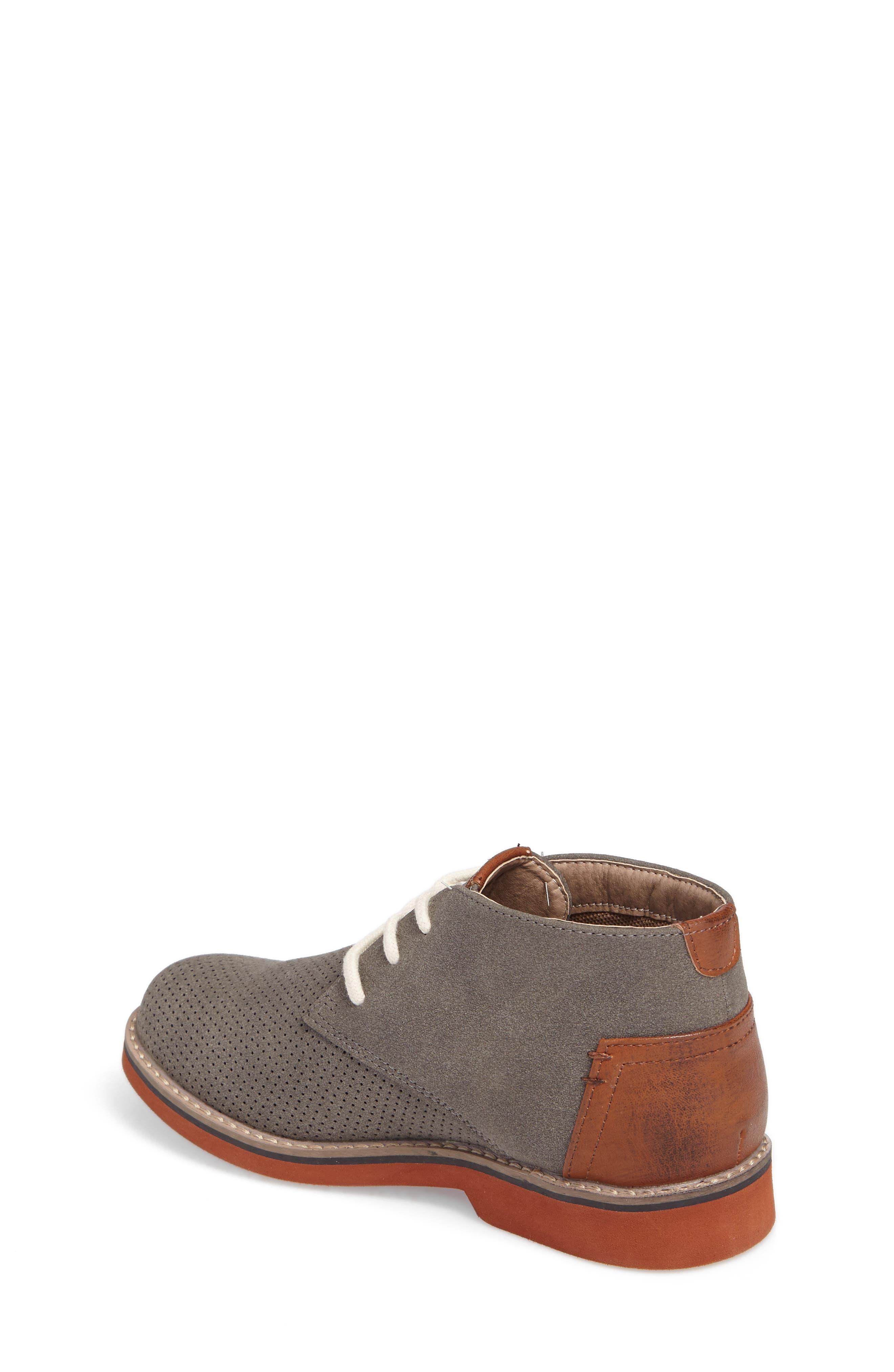 Baden Perforated Chukka Shoe,                             Alternate thumbnail 2, color,                             055