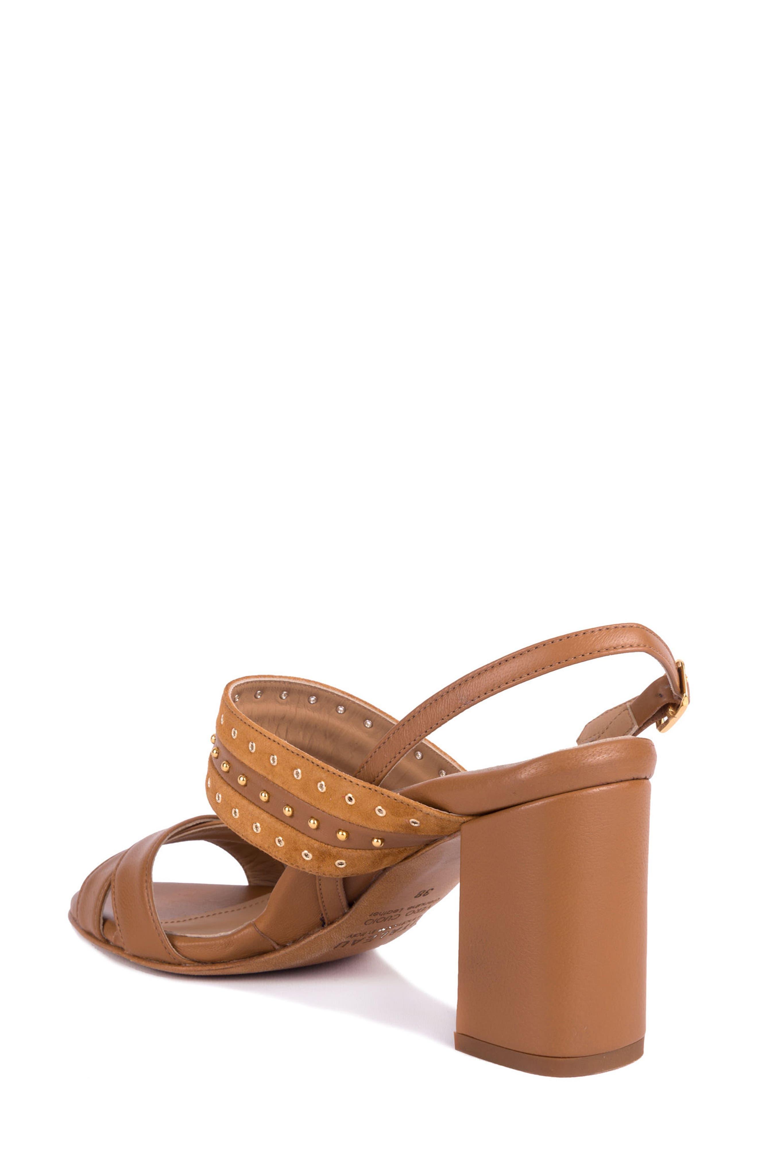 Soldani Studded Slingback Sandal,                             Alternate thumbnail 2, color,