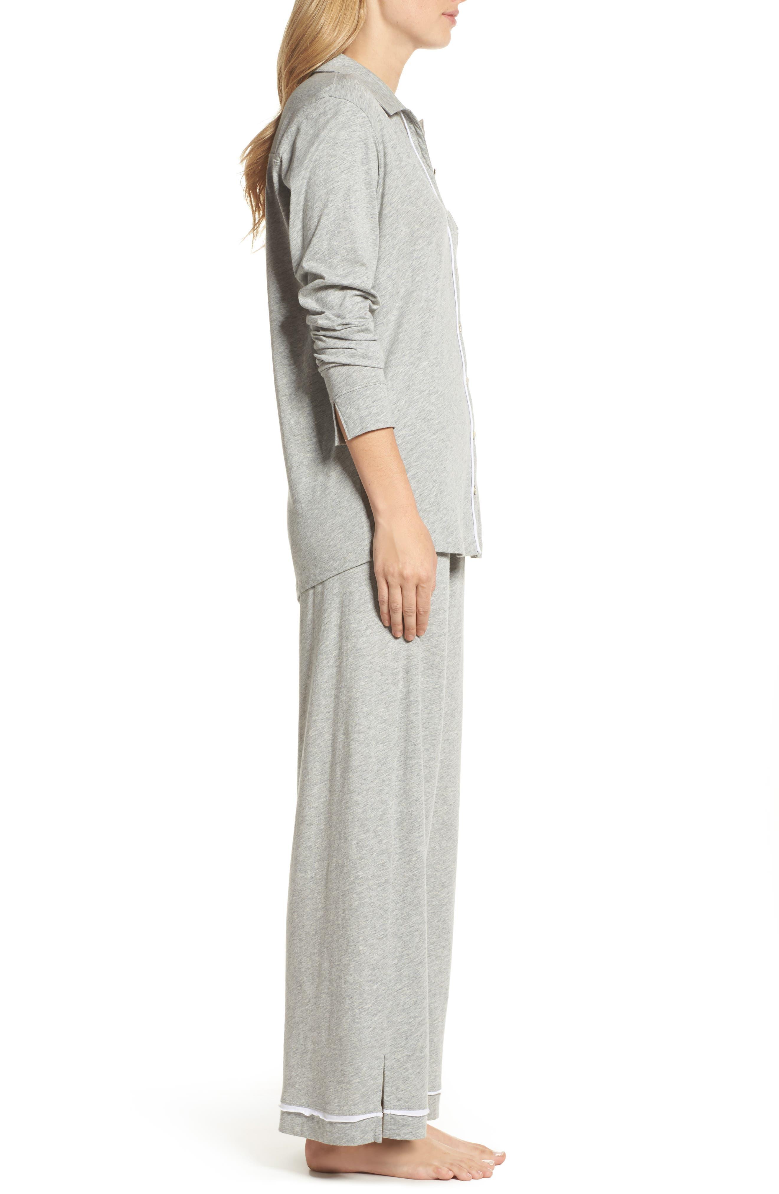 Penelope Pima Cotton Pajamas,                             Alternate thumbnail 3, color,                             020