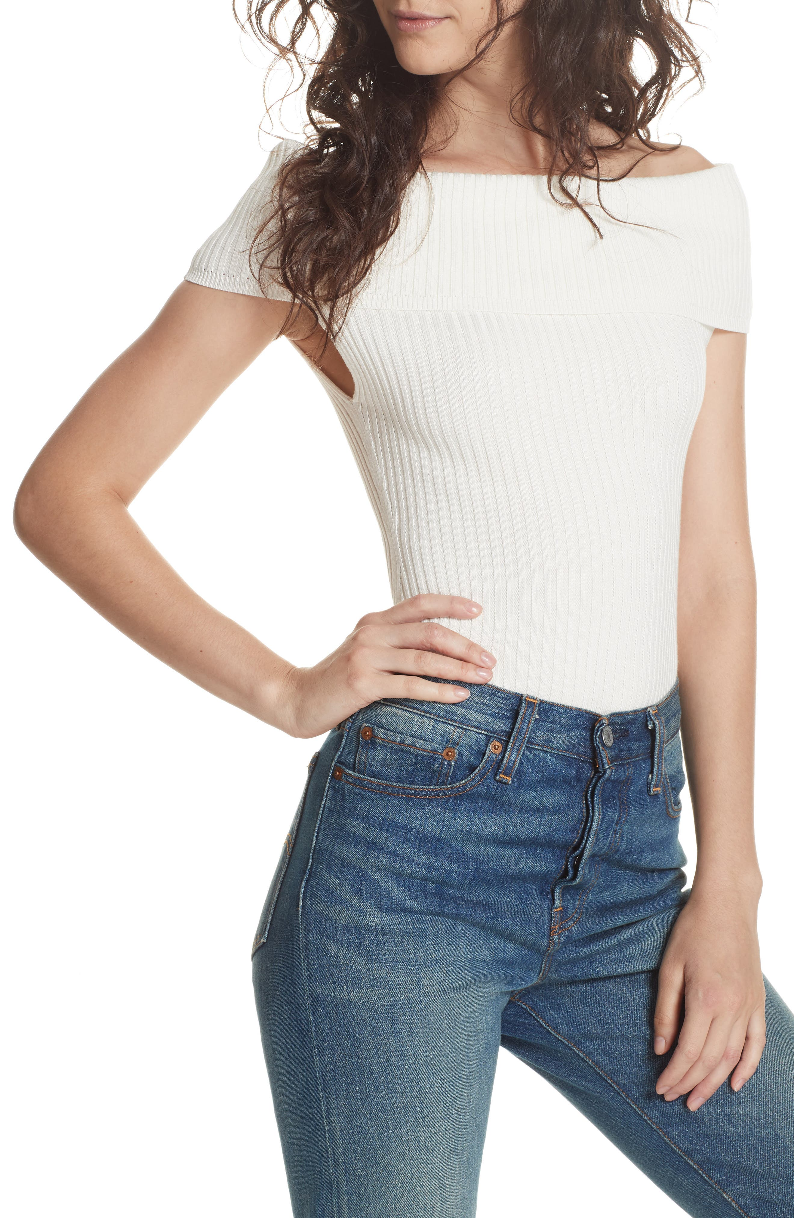 Too Good Bodysuit,                         Main,                         color, IVORY