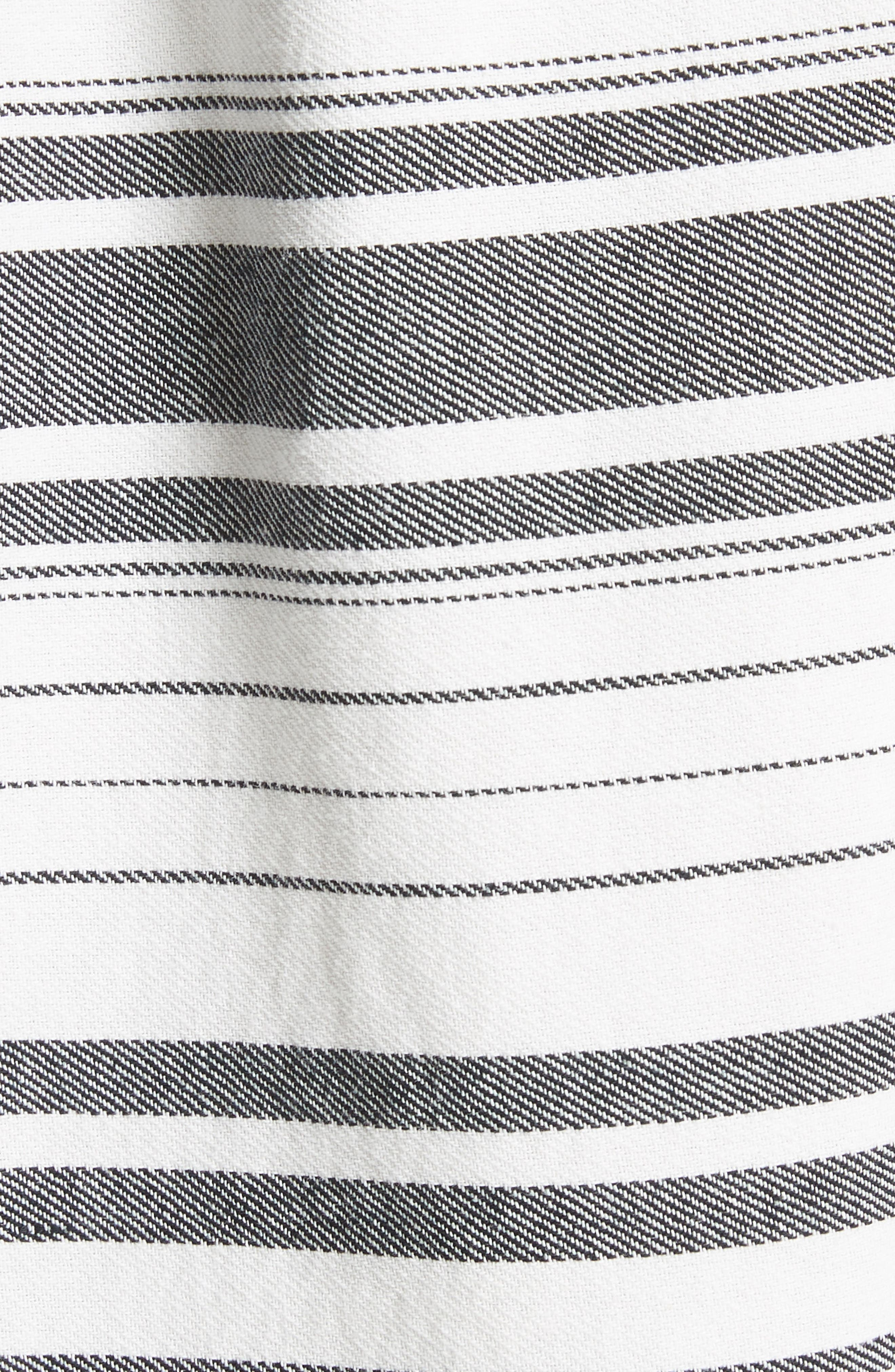 Cabeza Stripe Backless Cotton Sundress,                             Alternate thumbnail 5, color,                             102