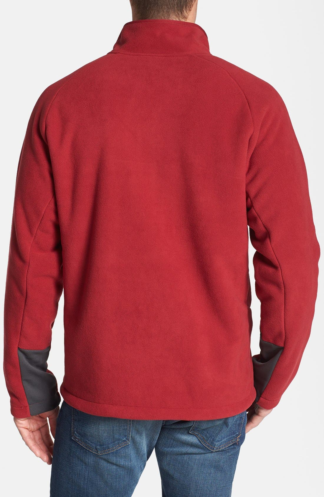 'Chimborazo' Zip Front Fleece Jacket,                             Alternate thumbnail 23, color,