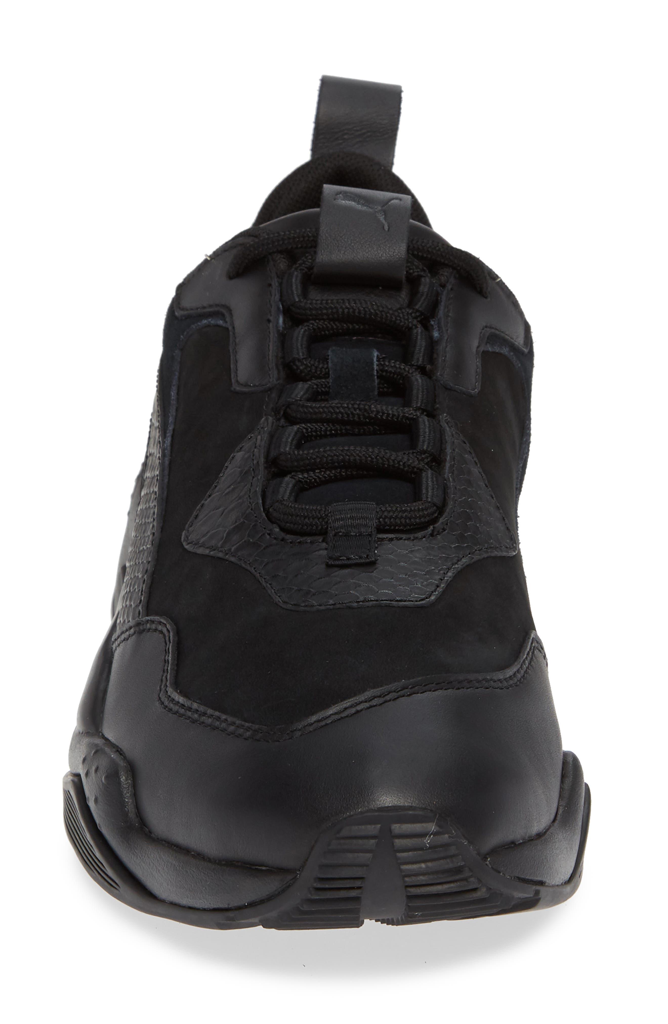 Thunder Desert Sneaker,                             Alternate thumbnail 4, color,                             BLACK/ BLACK