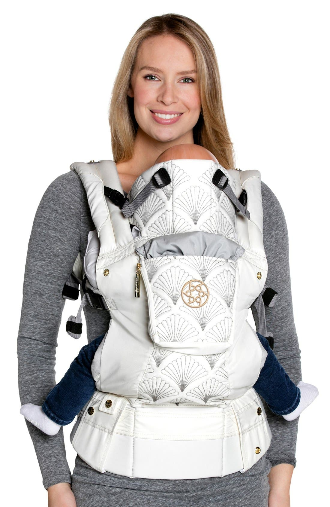 Infant Lillebaby Complete Embossed Luxe Baby Carrier Size One Size  White