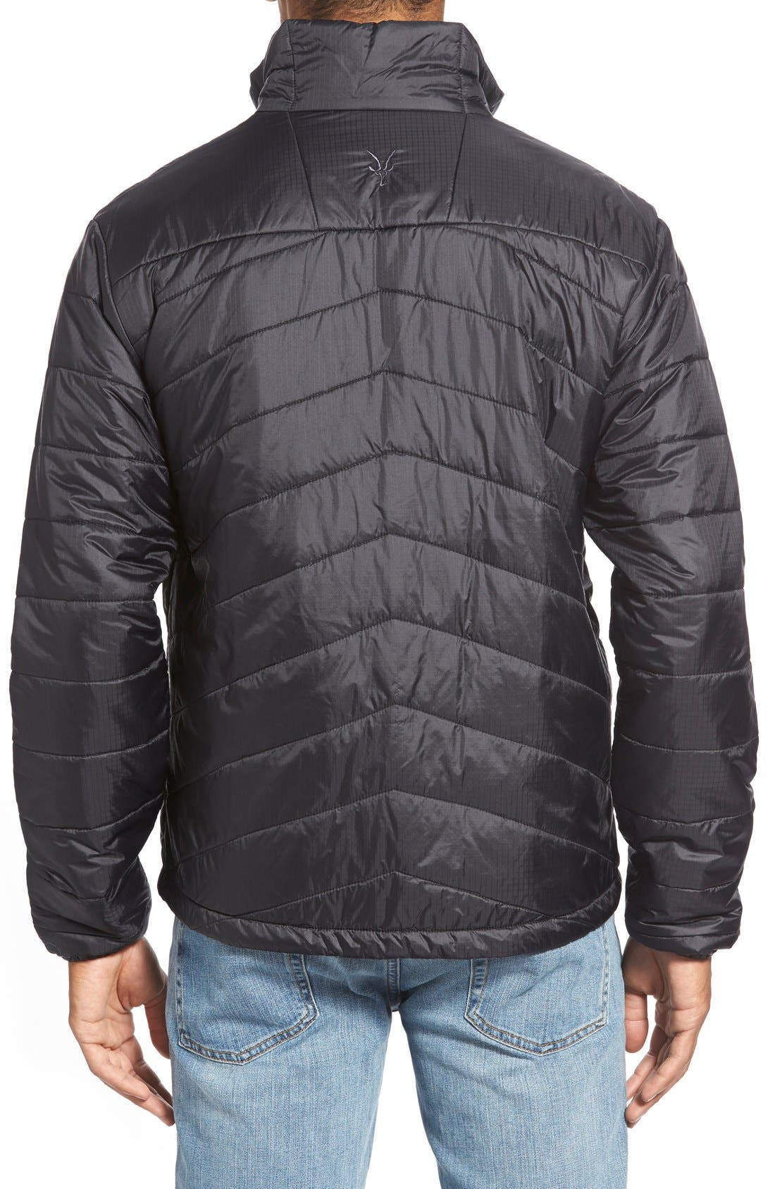 'Wool Aire' Water Resistant Jacket,                             Alternate thumbnail 2, color,                             001