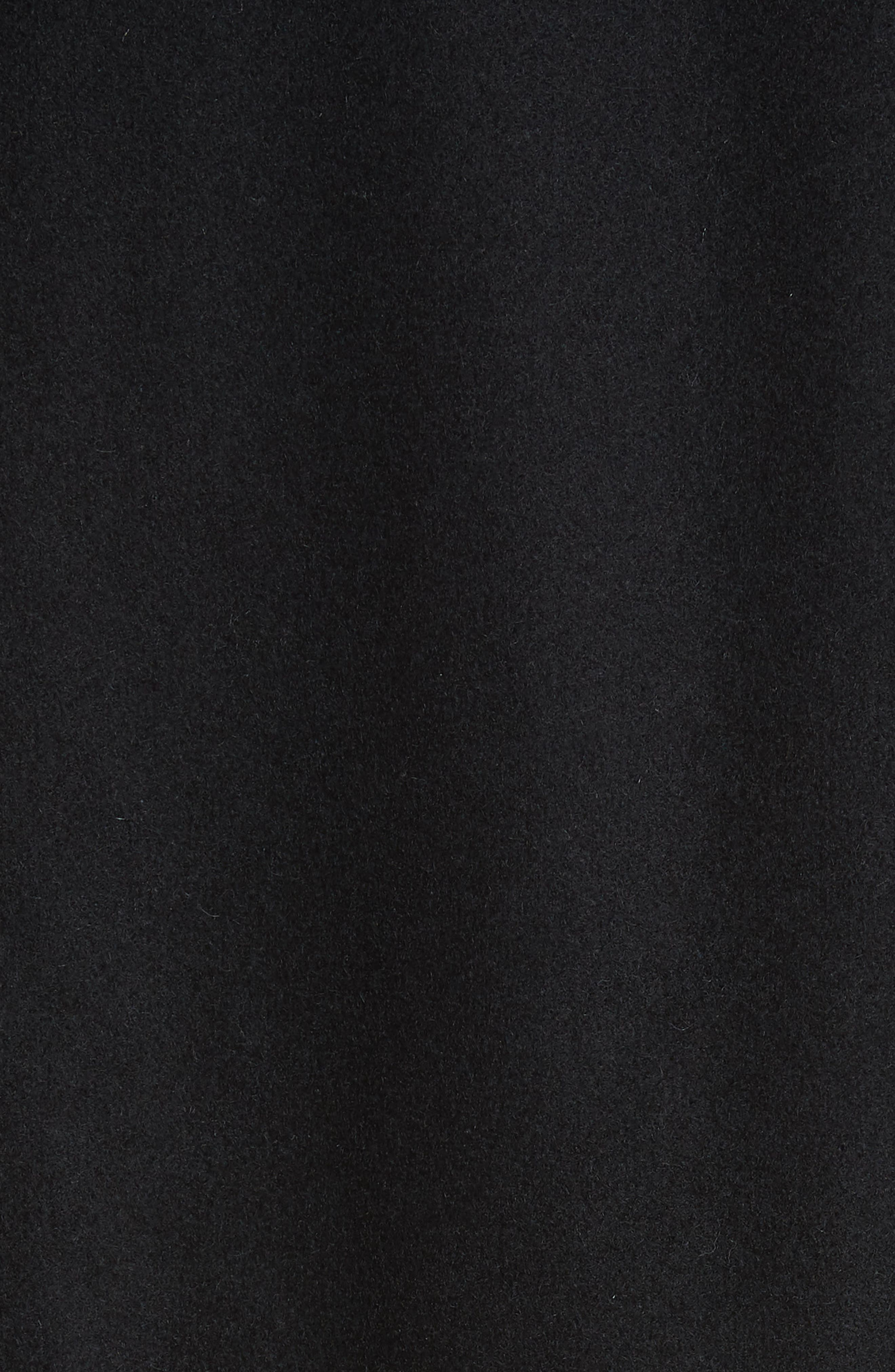 Verreli Hooded Parka with Faux Fur Trim,                             Alternate thumbnail 7, color,                             BLACK 900