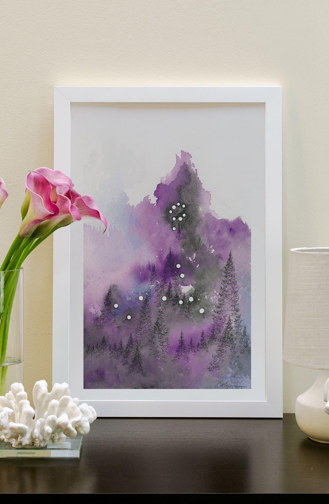 'Pisces' Framed Fine Art Print,                             Alternate thumbnail 2, color,                             100