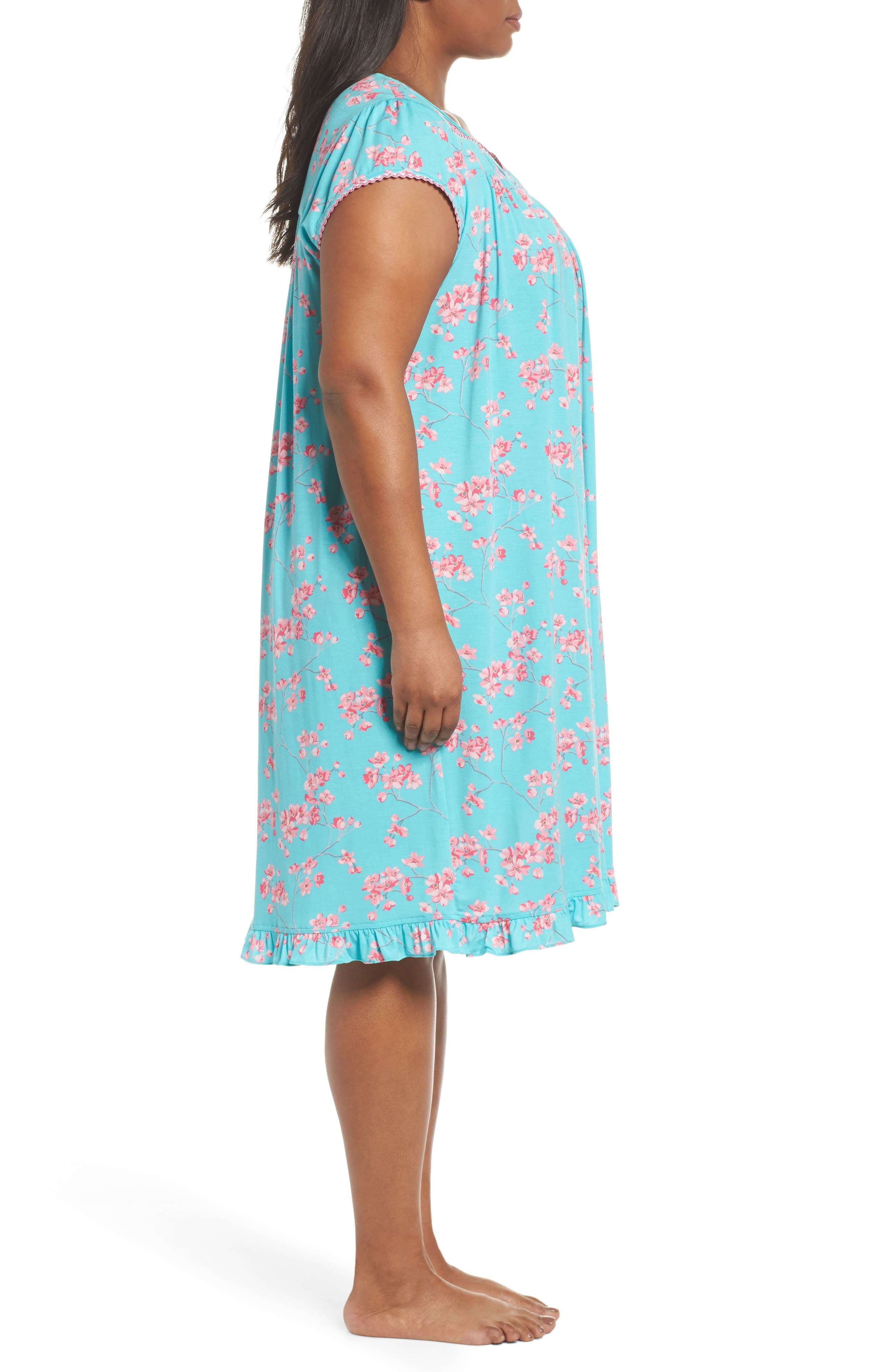 Jersey Waltz Nightgown,                             Alternate thumbnail 5, color,