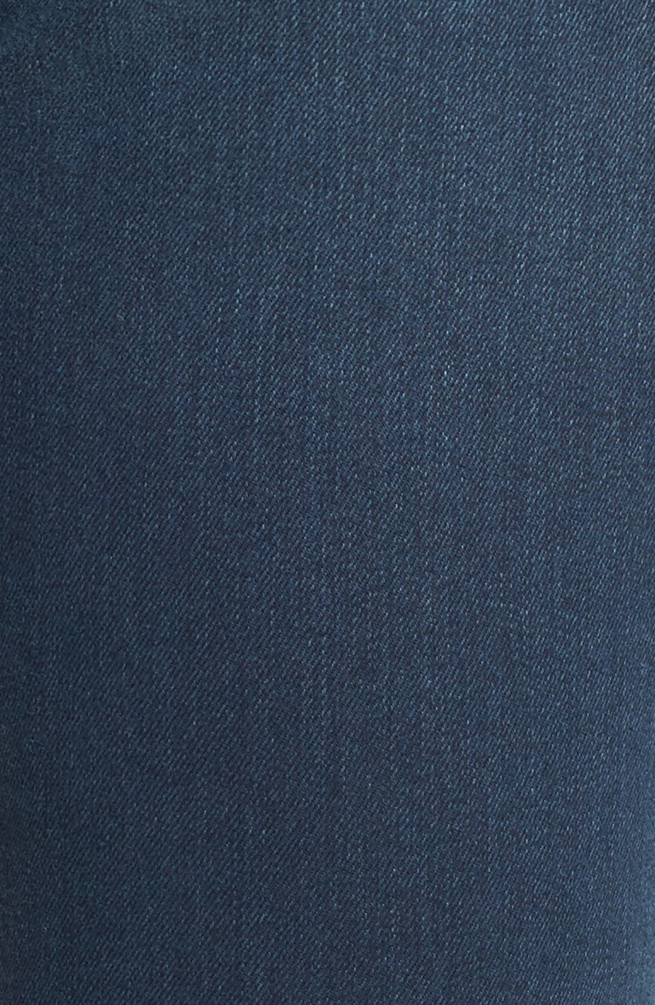 Ami Stretch Super Skinny Jeans,                             Alternate thumbnail 5, color,                             404