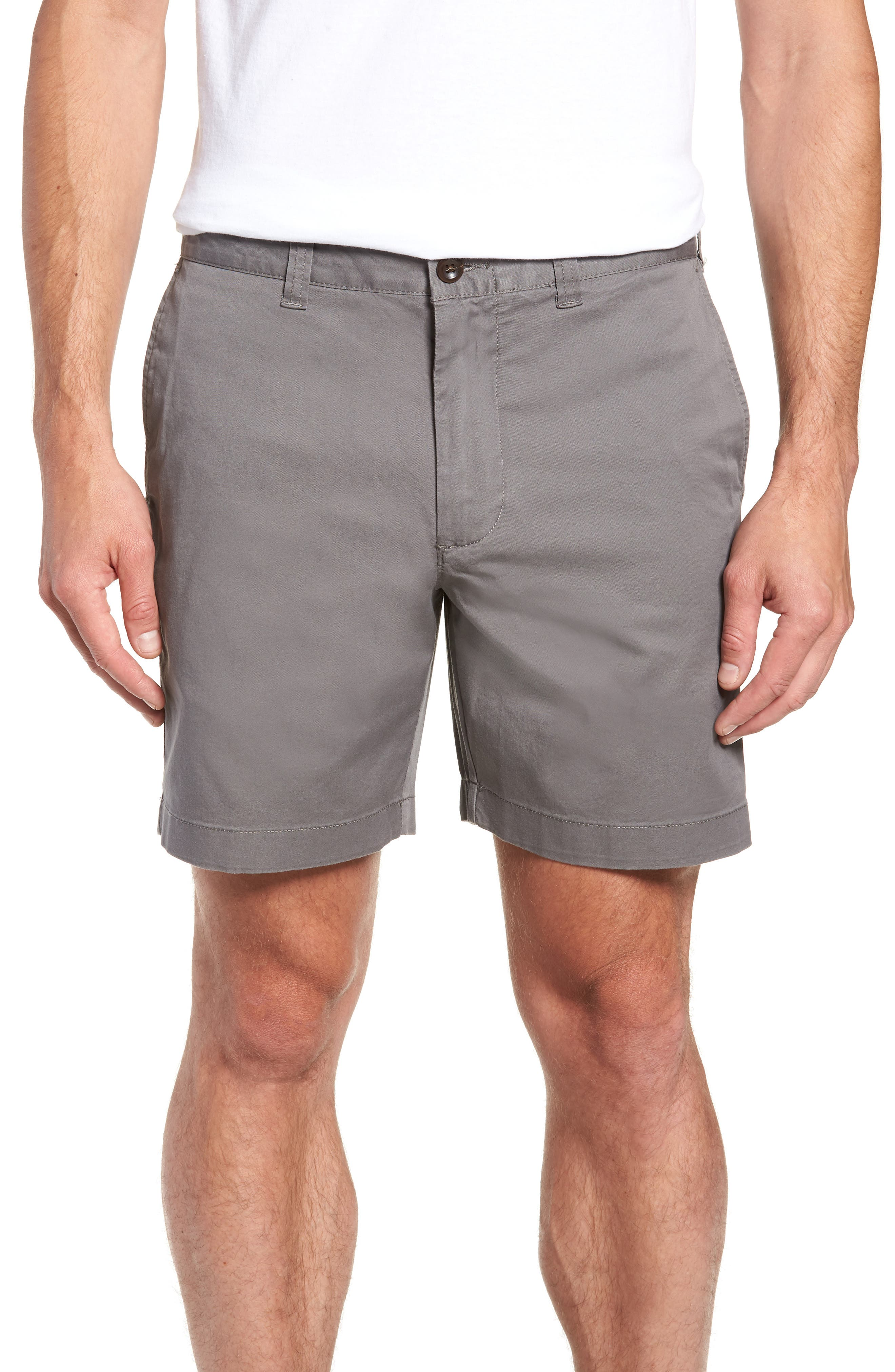 Stretch Cotton Shorts,                             Main thumbnail 2, color,