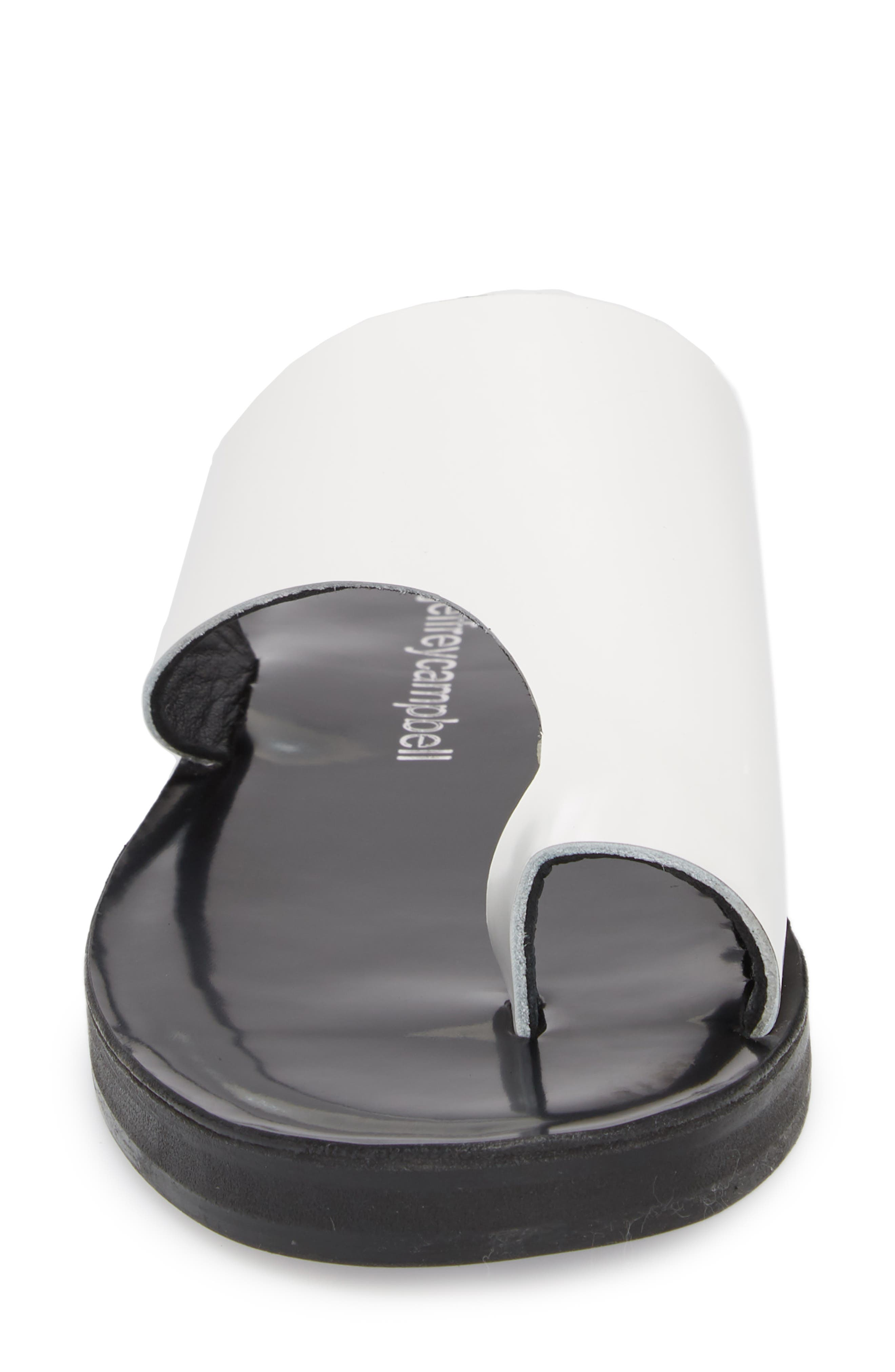 Morada Asymmetrical Slide Sandal,                             Alternate thumbnail 4, color,                             107