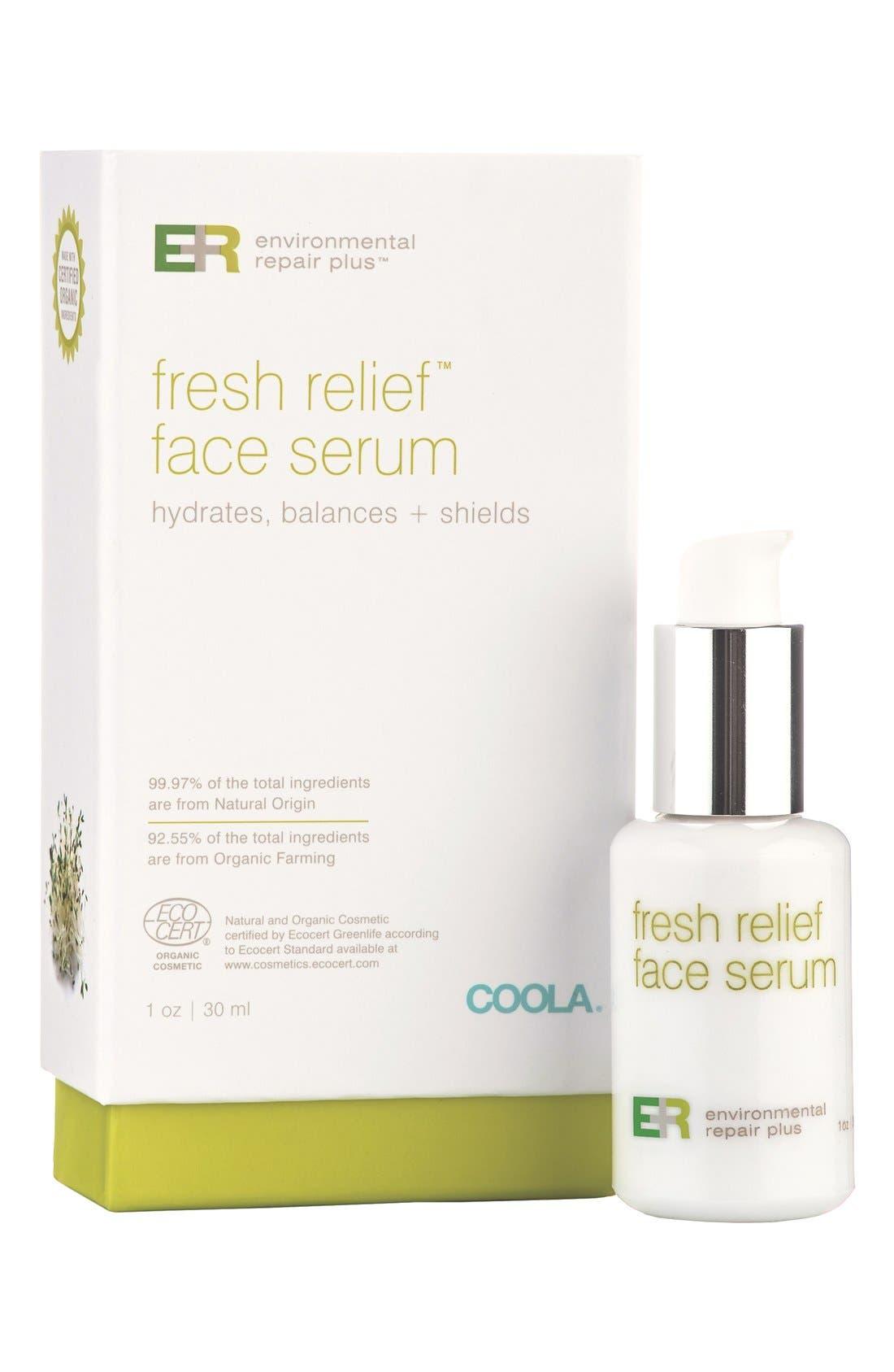 COOLA<sup>®</sup> Suncare Environmental Repair Plus<sup>®</sup> Fresh Relief<sup>™</sup> Face Serum,                             Main thumbnail 1, color,