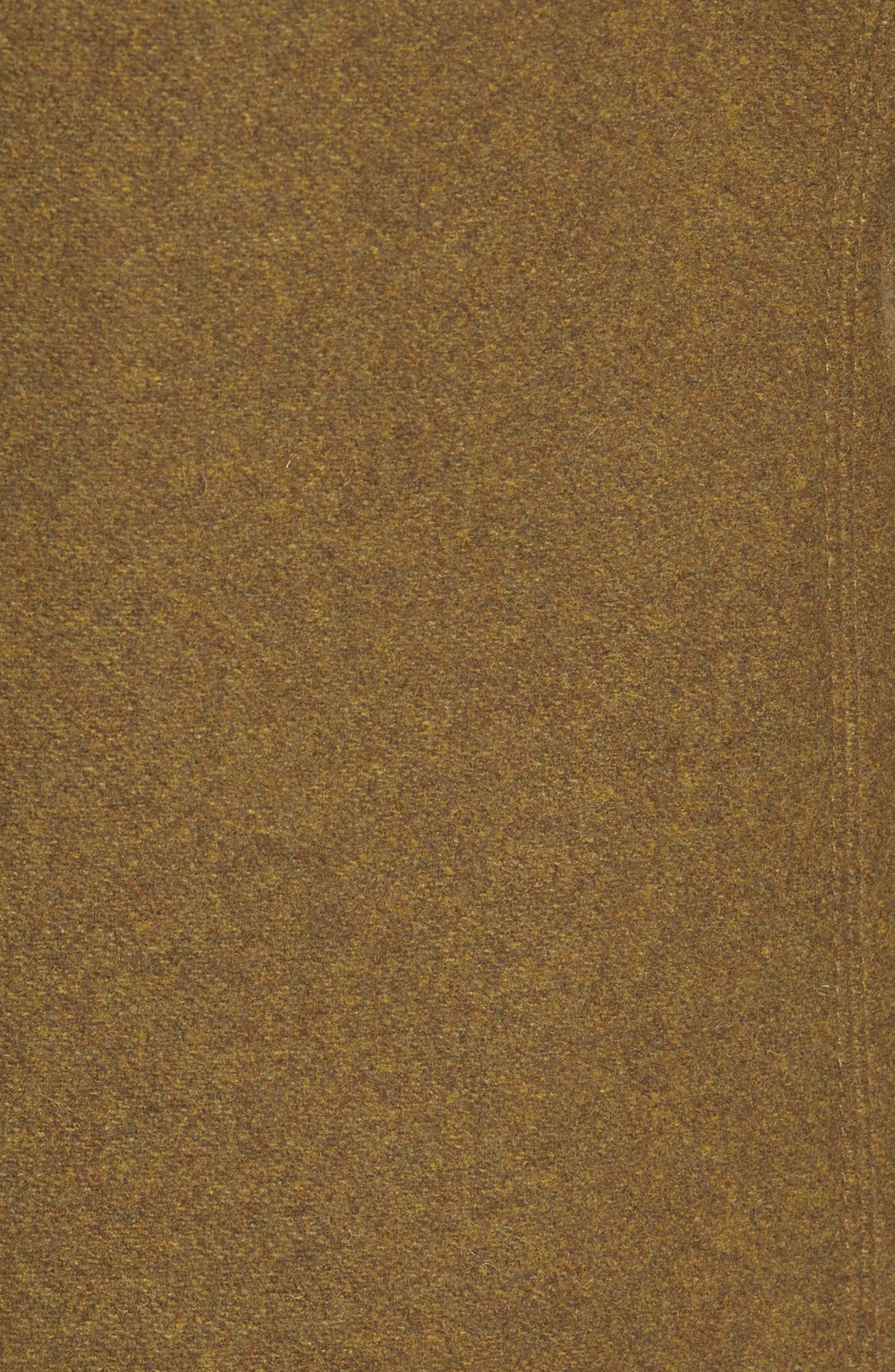Embellished Slim Wool Blend Peacoat,                             Alternate thumbnail 6, color,                             252