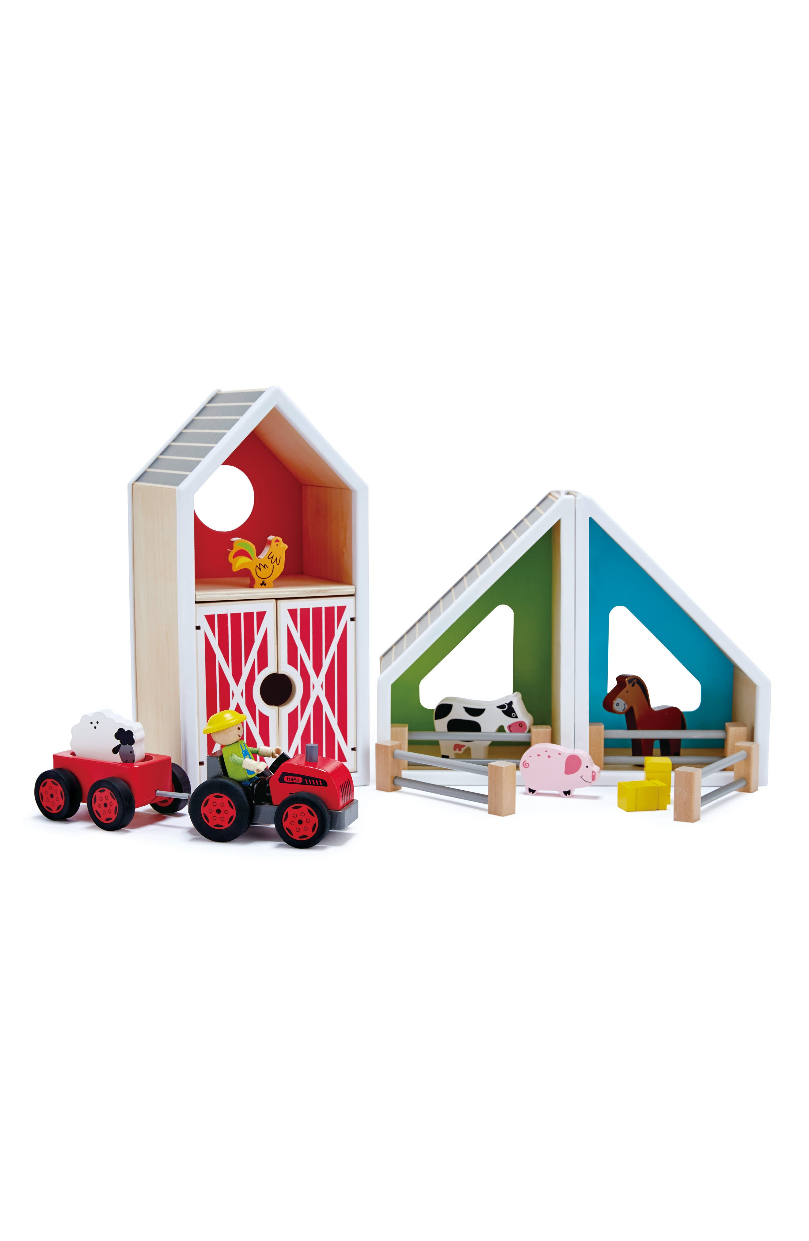 Barn Set,                             Alternate thumbnail 3, color,
