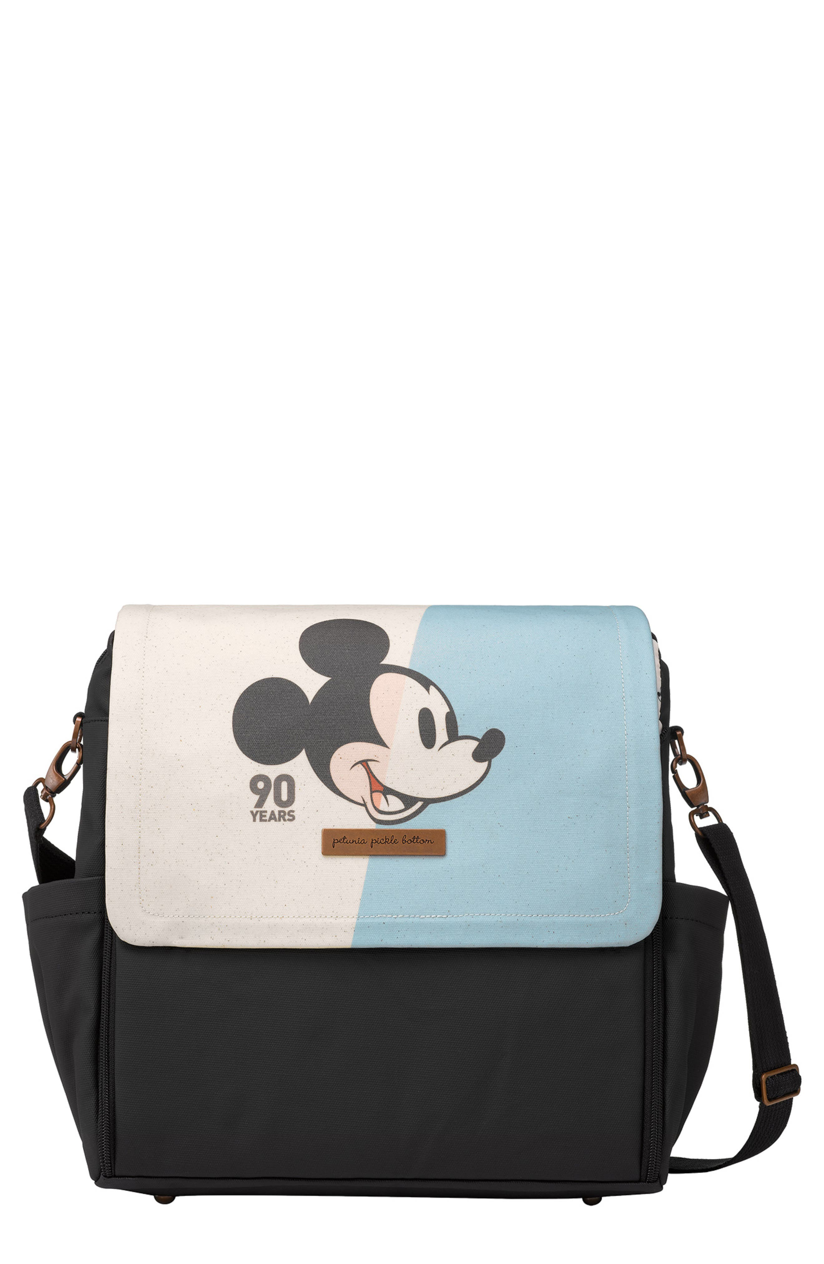 PETUNIA PICKLE BOTTOM,                             Mickey's 90th Disney Collaboration Boxy Backpack,                             Main thumbnail 1, color,                             BLUE