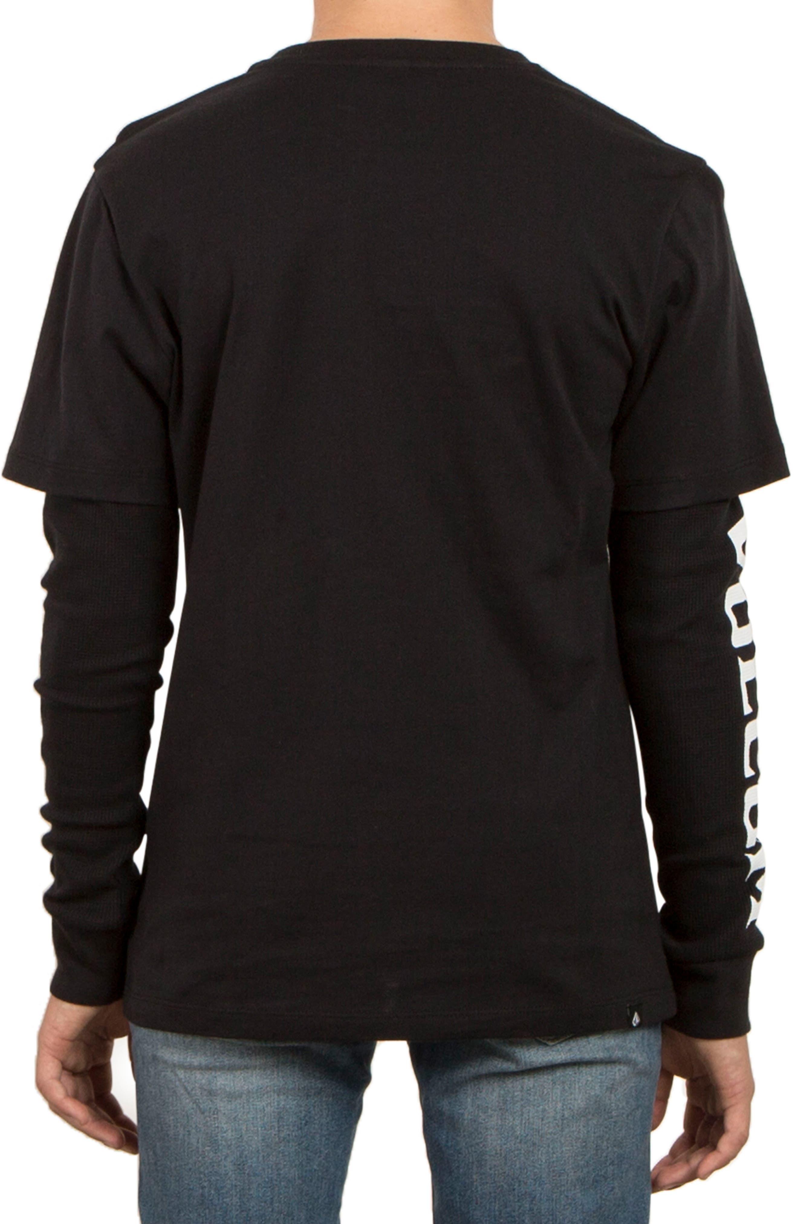 Easton Long Sleeve T-Shirt,                             Alternate thumbnail 2, color,                             001